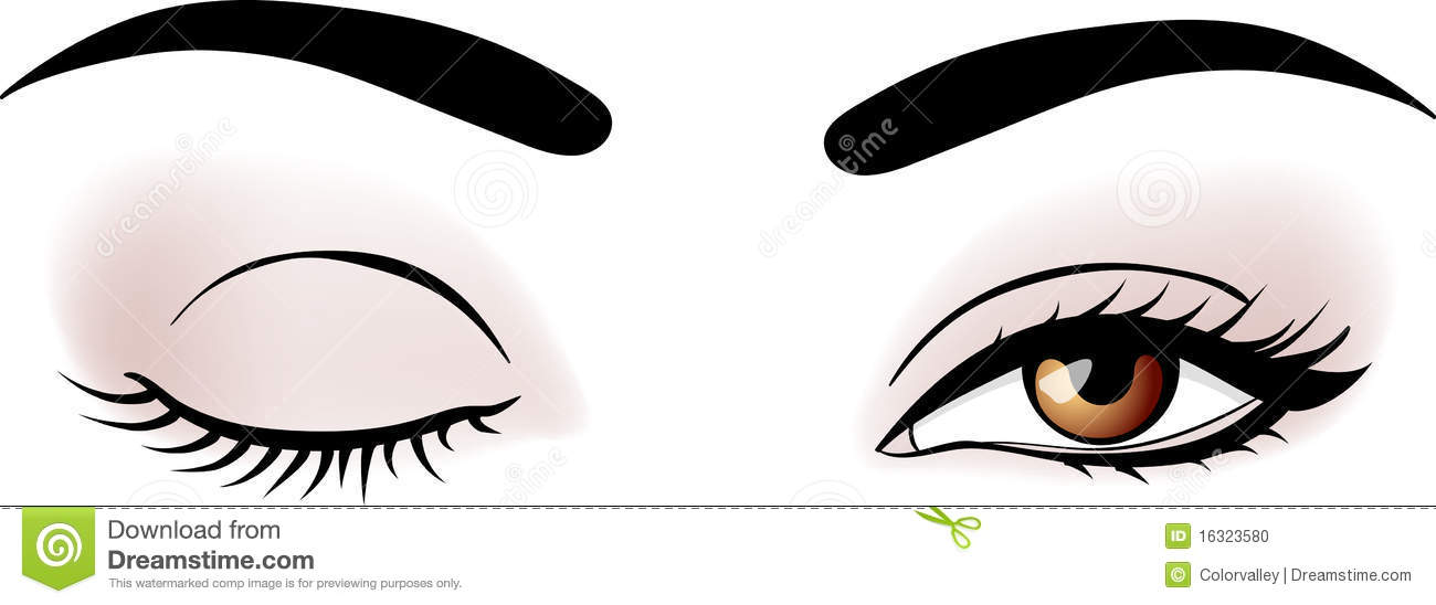 Fashion contest 2017 - Vector Woman Eyes Stock Photo Image 16323580