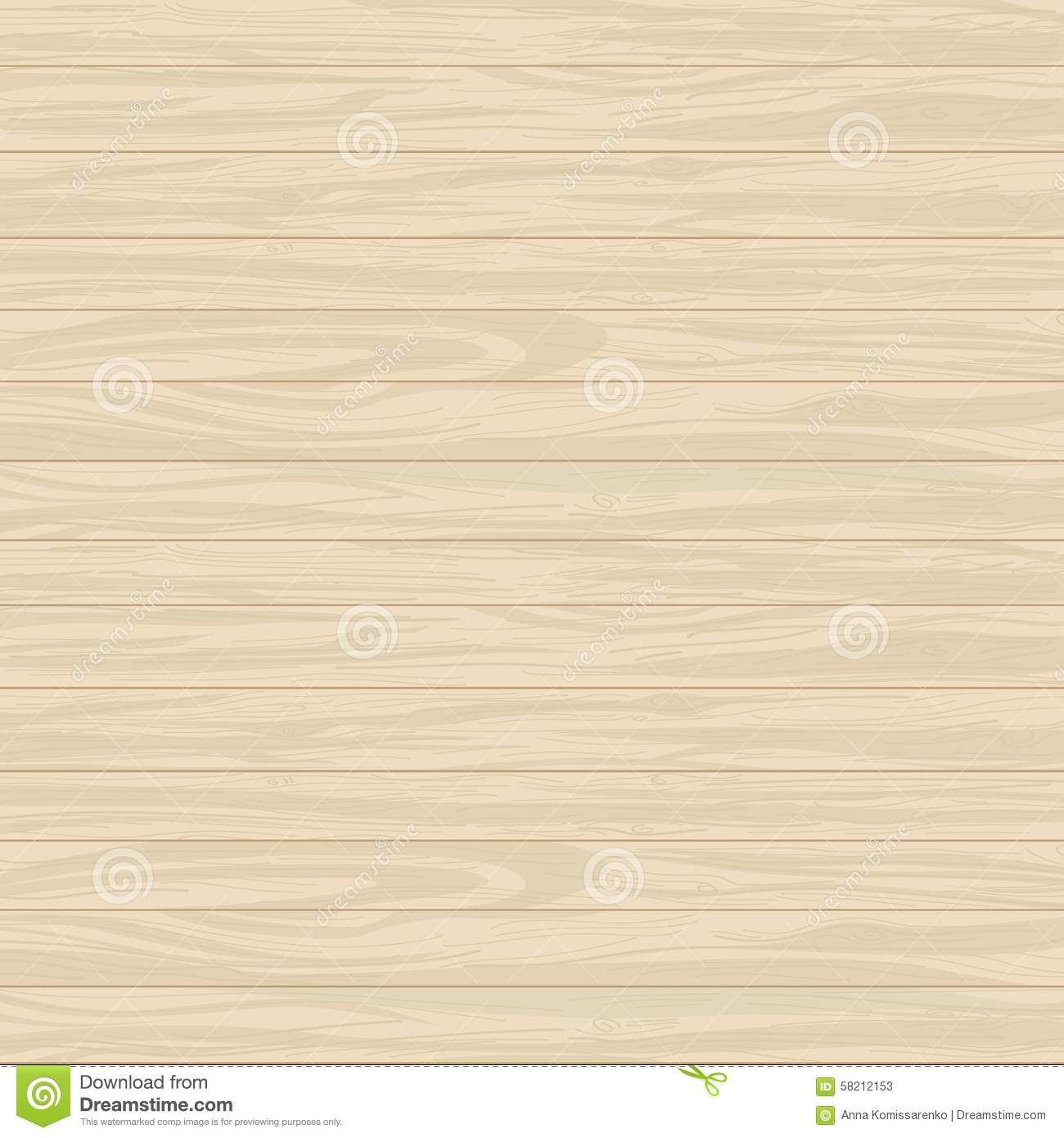Vector Wood Hand Painted Background Stock Vector Image