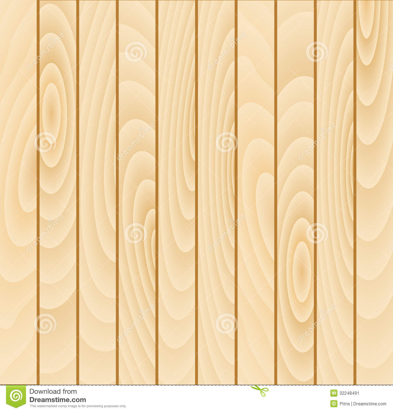 Vector Wood Plank Background Stock Vector - Image: 32248491