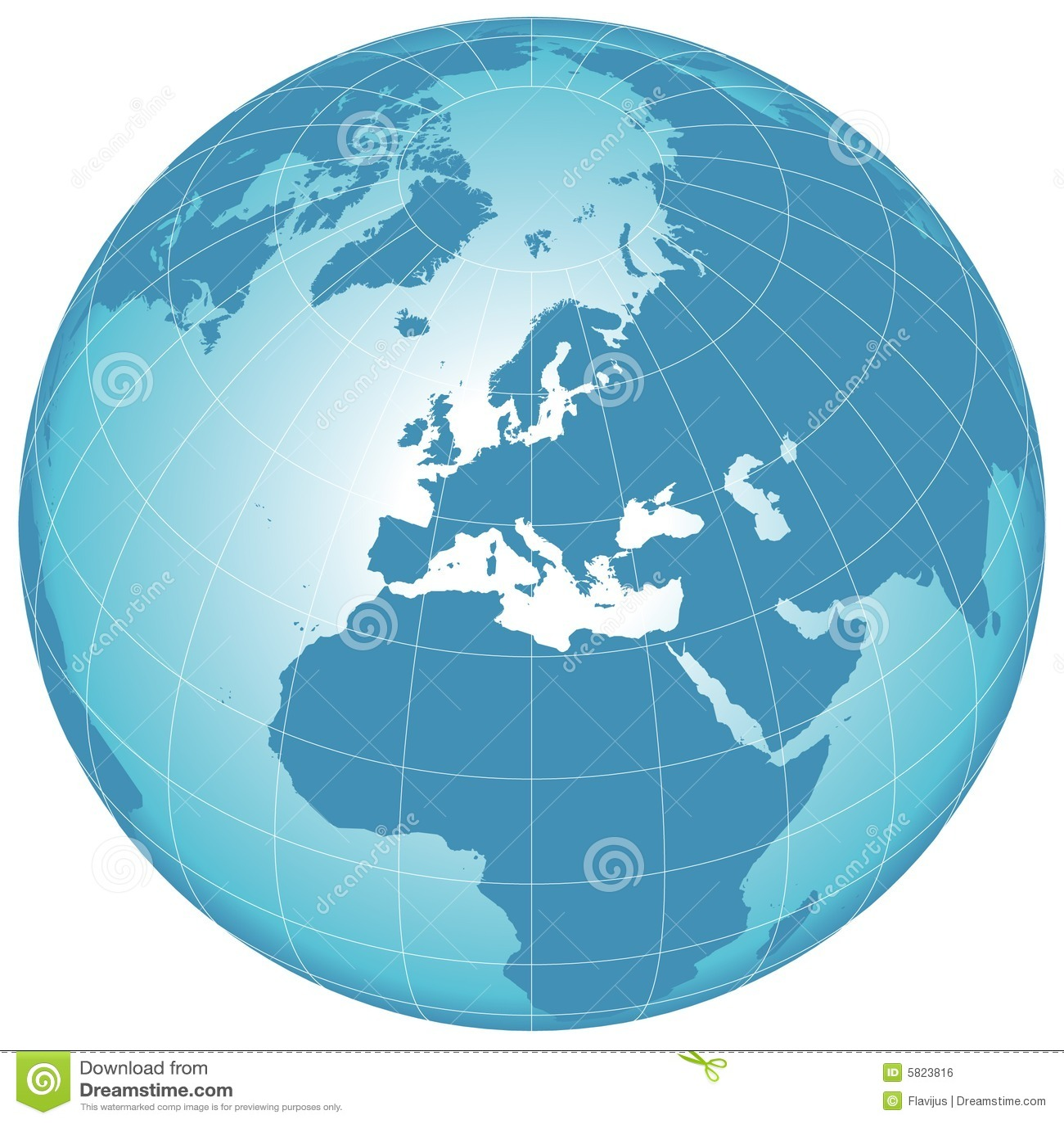 Vector world globe stock vector illustration of blue 5823816 vector world globe freerunsca Gallery