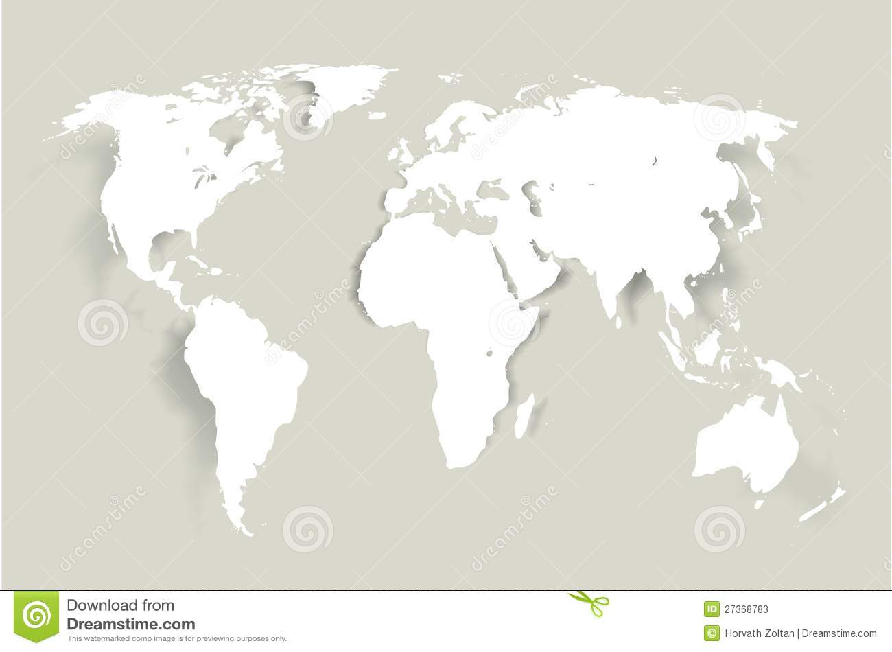 Vector world map stock vector image of digital australia 27368783 vector world map gumiabroncs Images