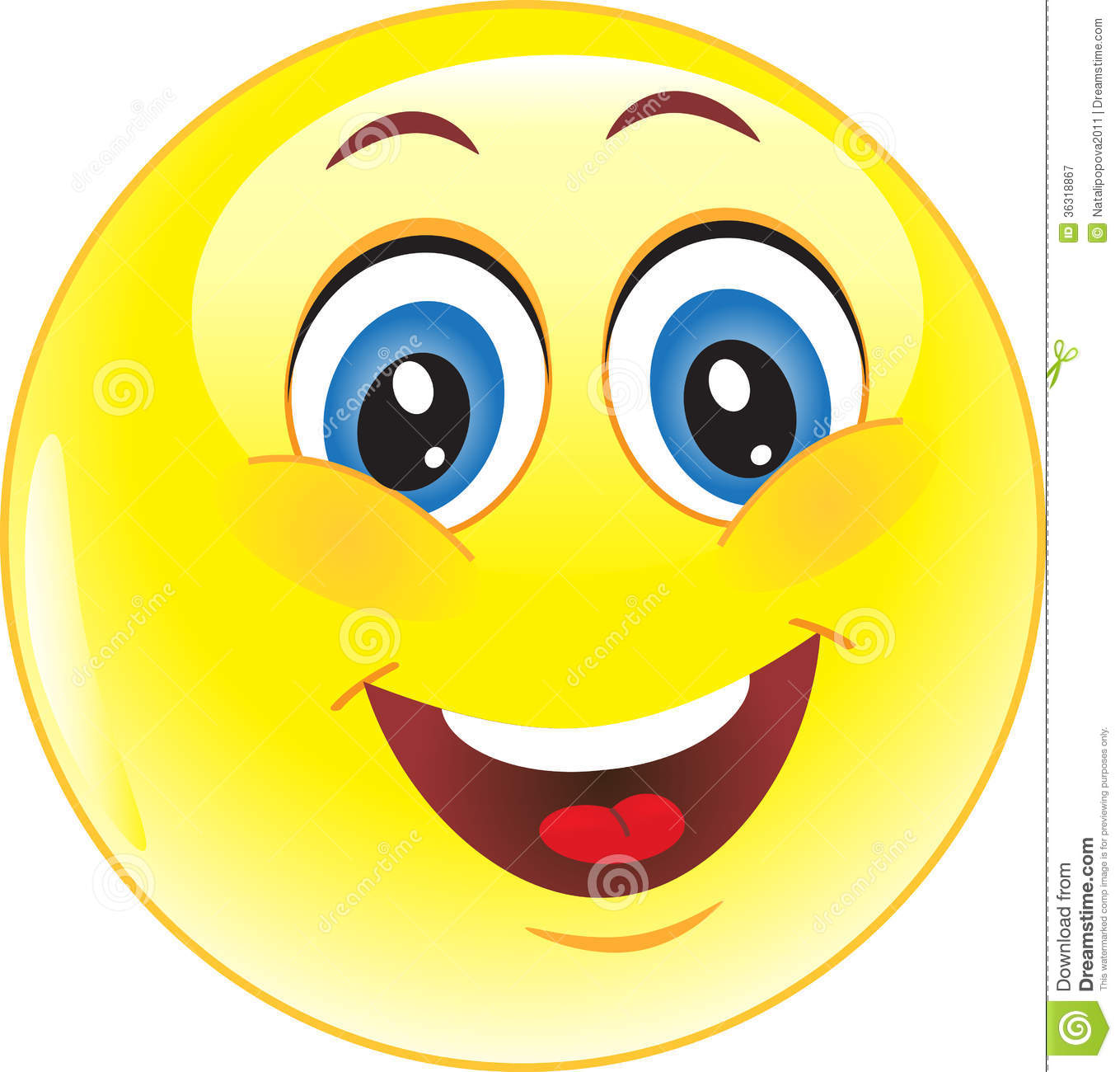 Vector Yellow Smiley Royalty Free Stock Photography - Image: 36318867