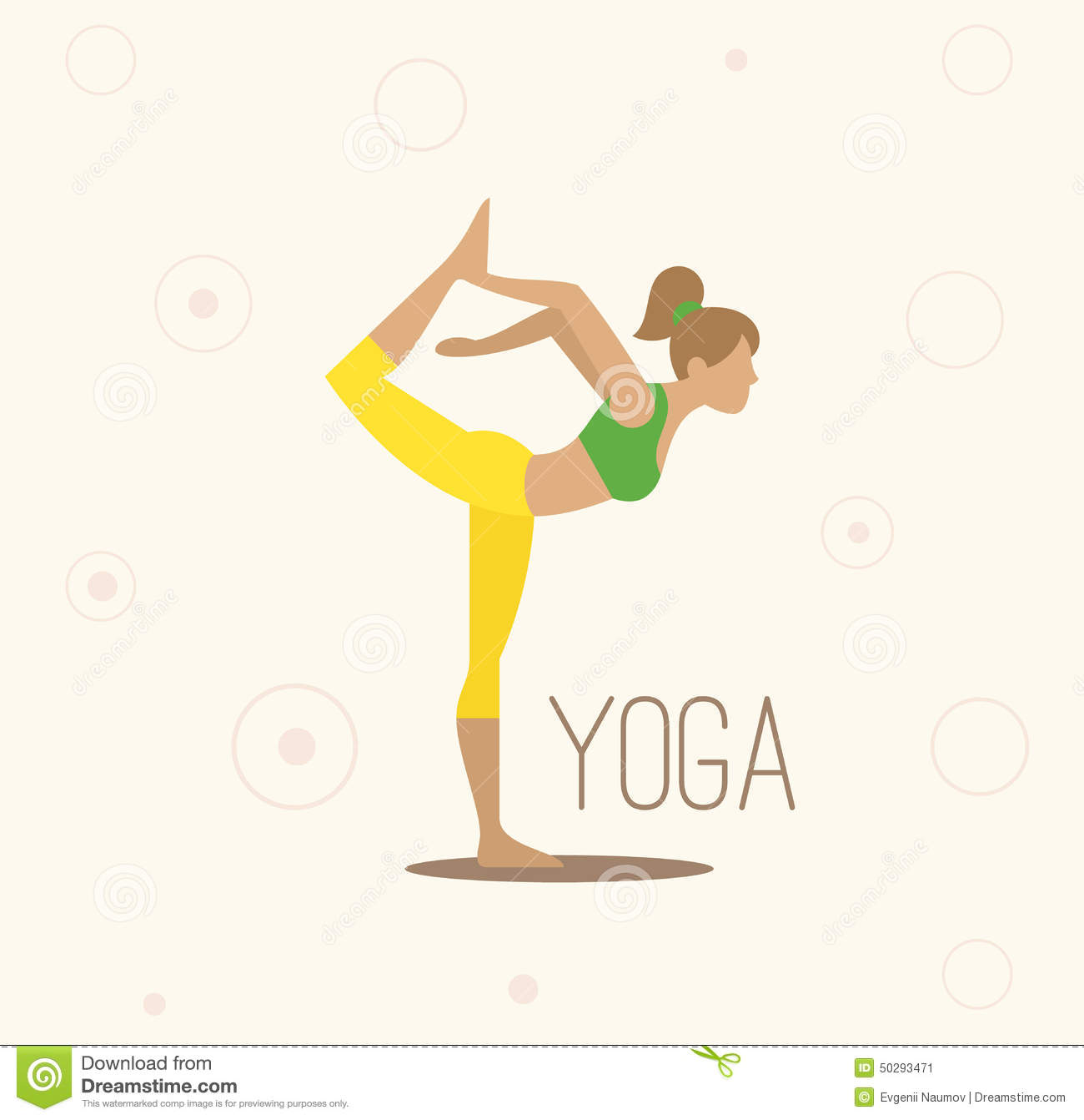 Vector Yoga Illustration. Surya Namaskara. Yoga Stock Vector ...