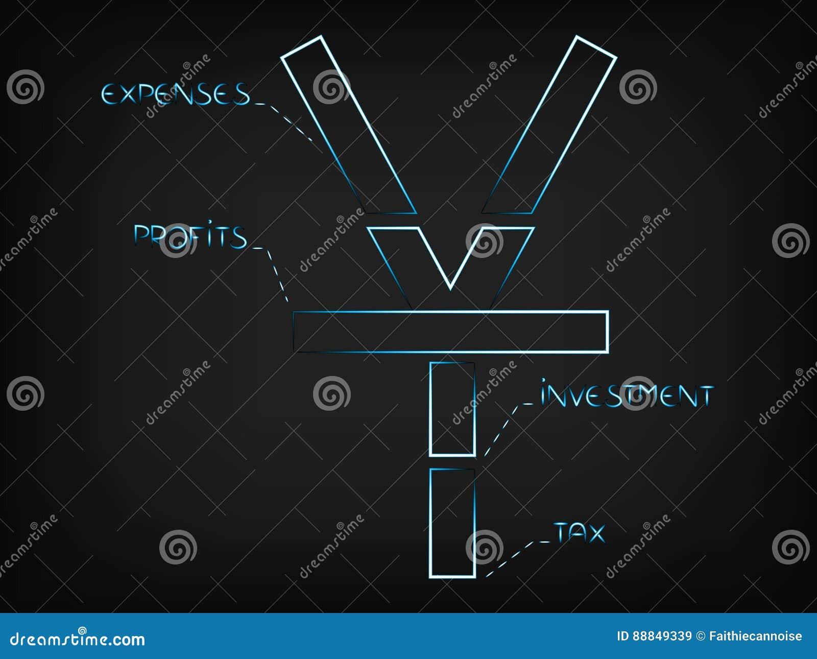Vector yuan symbol split into budget elements stock vector vector yuan symbol split into budget elements biocorpaavc