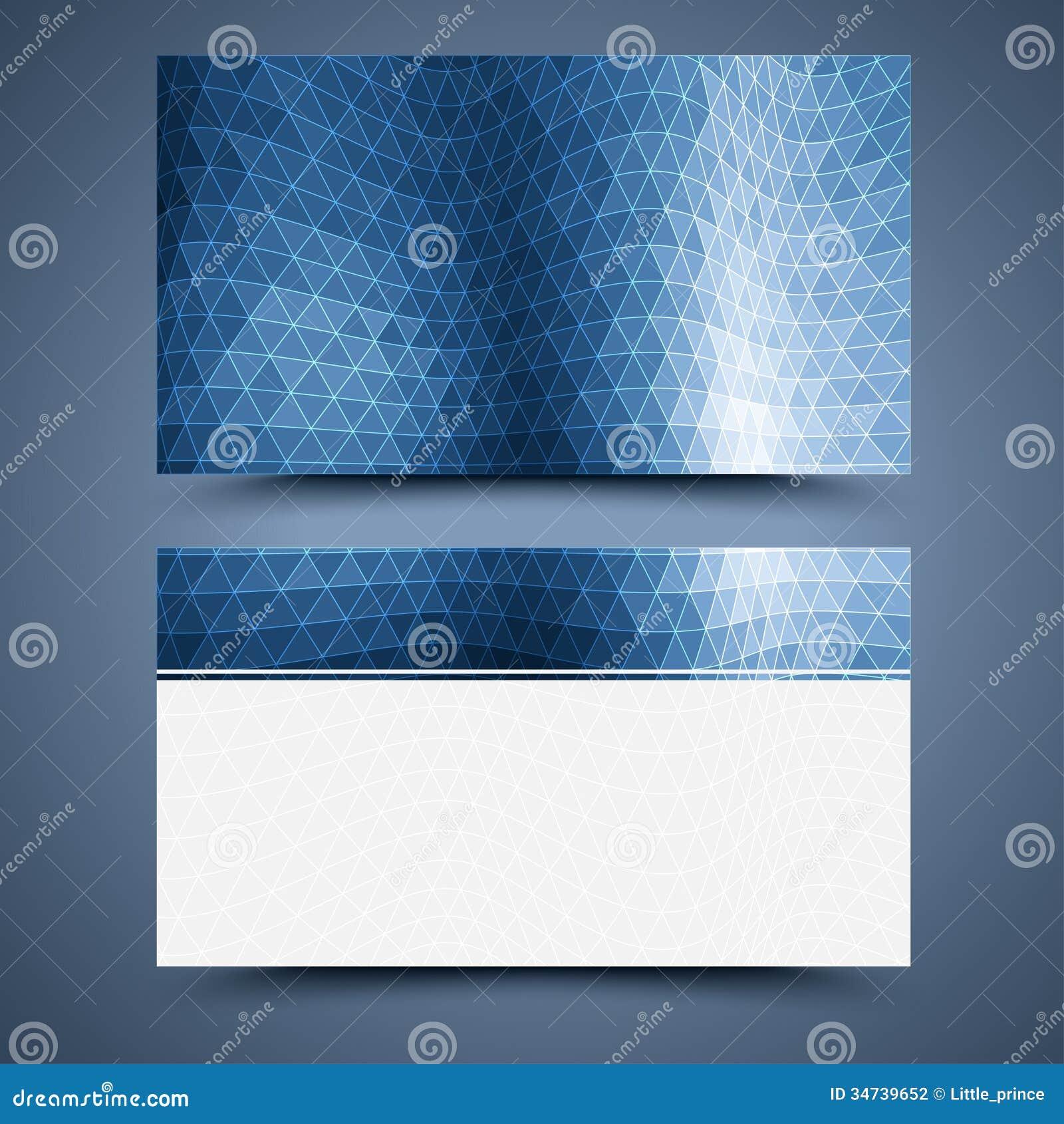 Vectoradreskaartje abstracte achtergrond