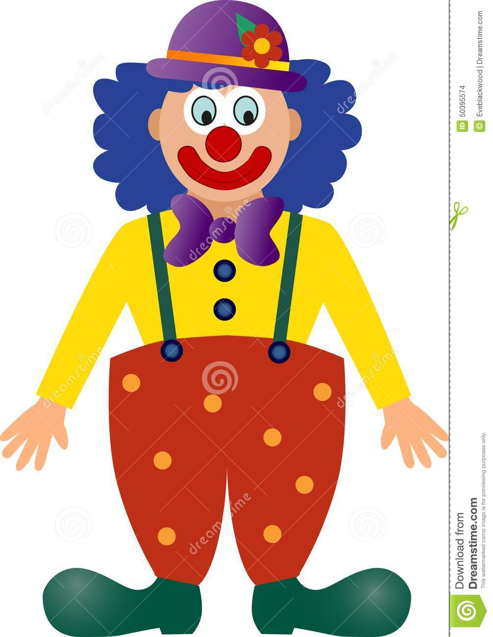 Vectorcarnaval-clown
