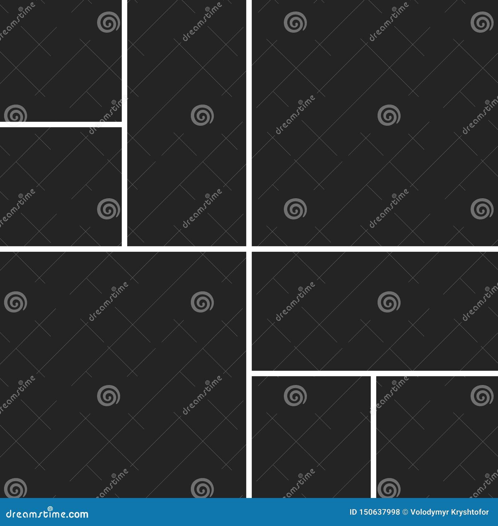 Vectorcollage voor foto s