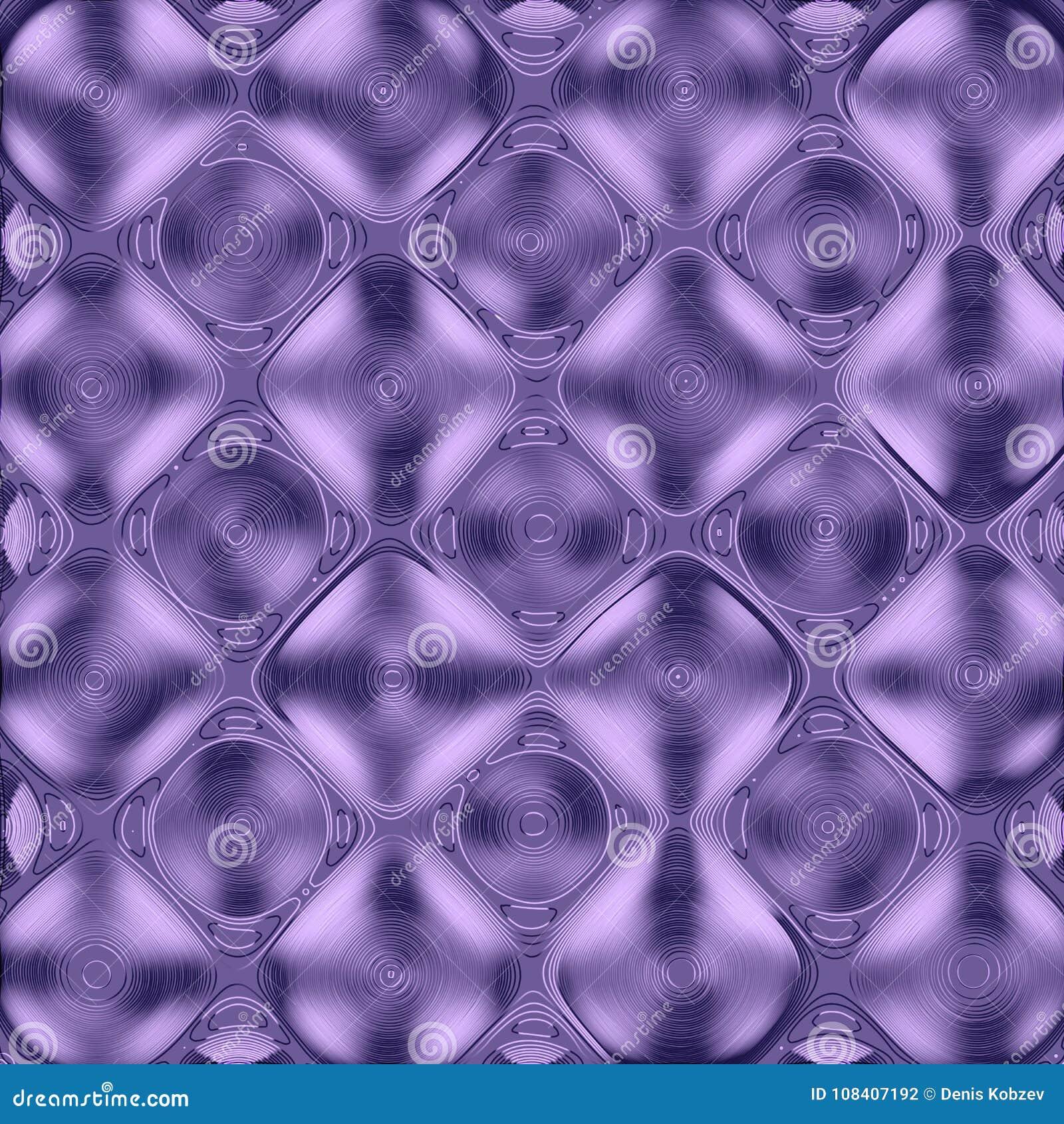 Vectorelement voor grafisch ontwerp Een abstract patroon met een regelmatig het herhalen geometrisch net, een ultraviolet en een
