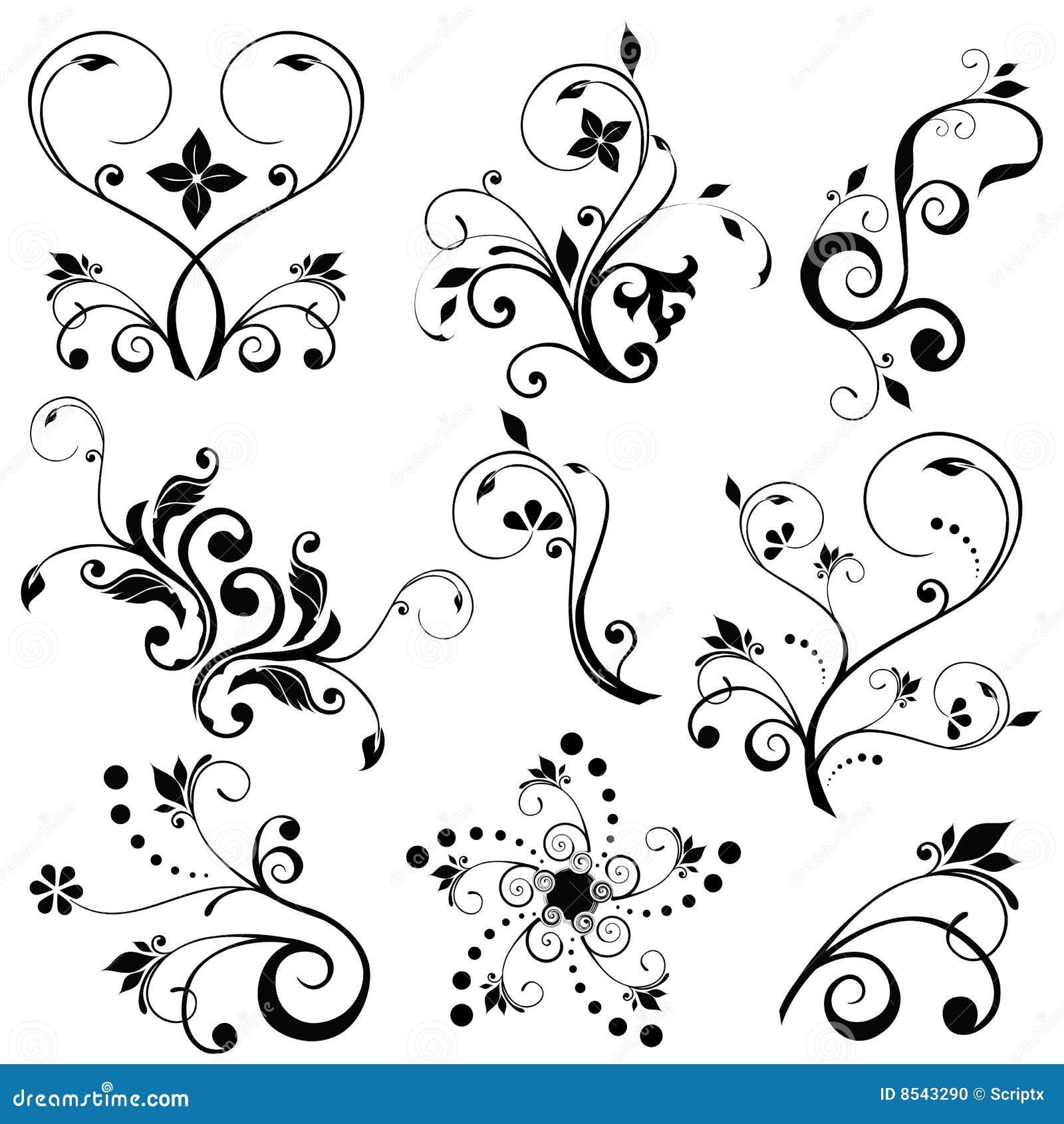 229c3037feacb Vectores florales ilustración del vector. Ilustración de grunge ...