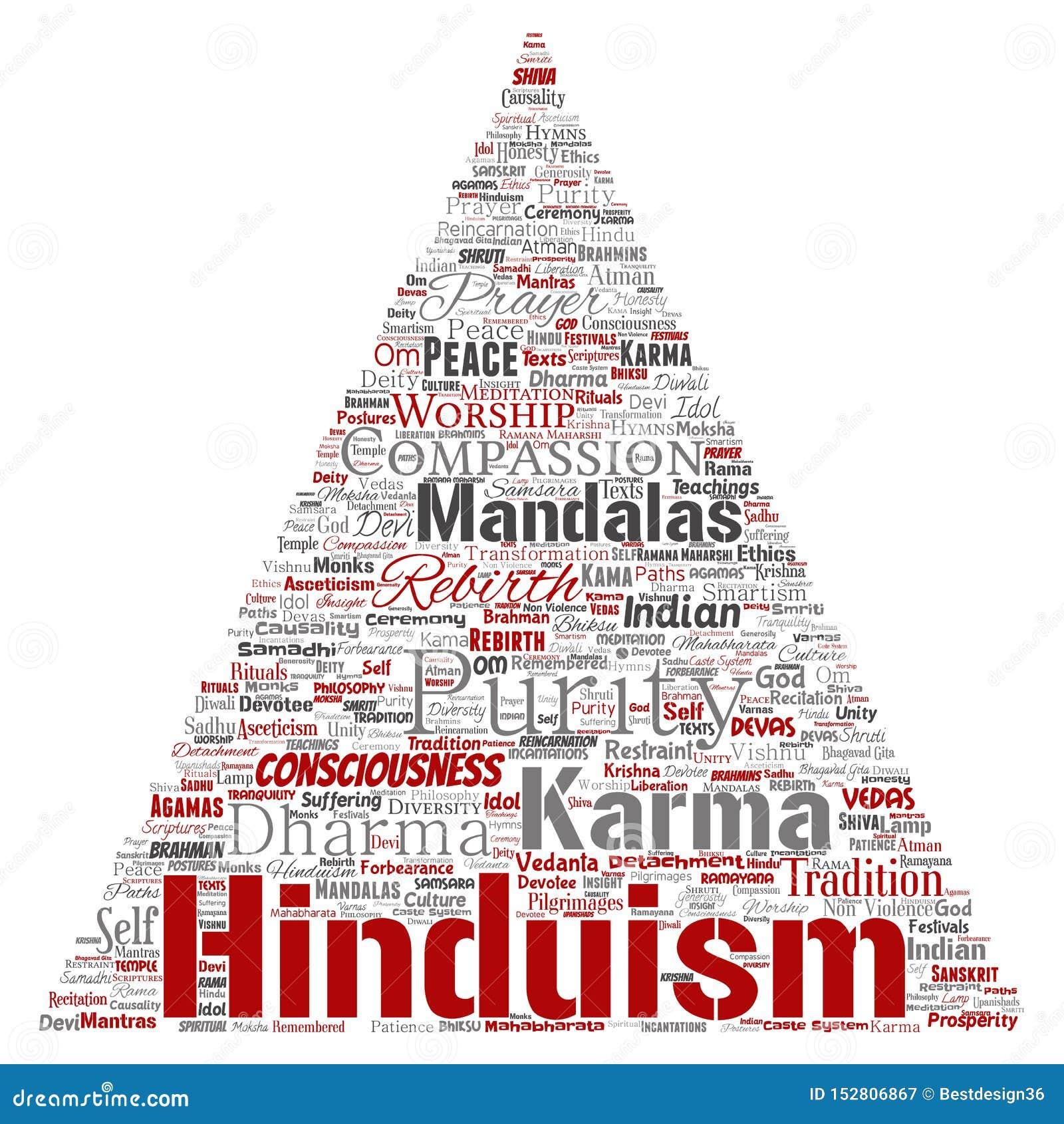 Vectorhinduism, shiva, rama, de pijl van de yogadriehoek