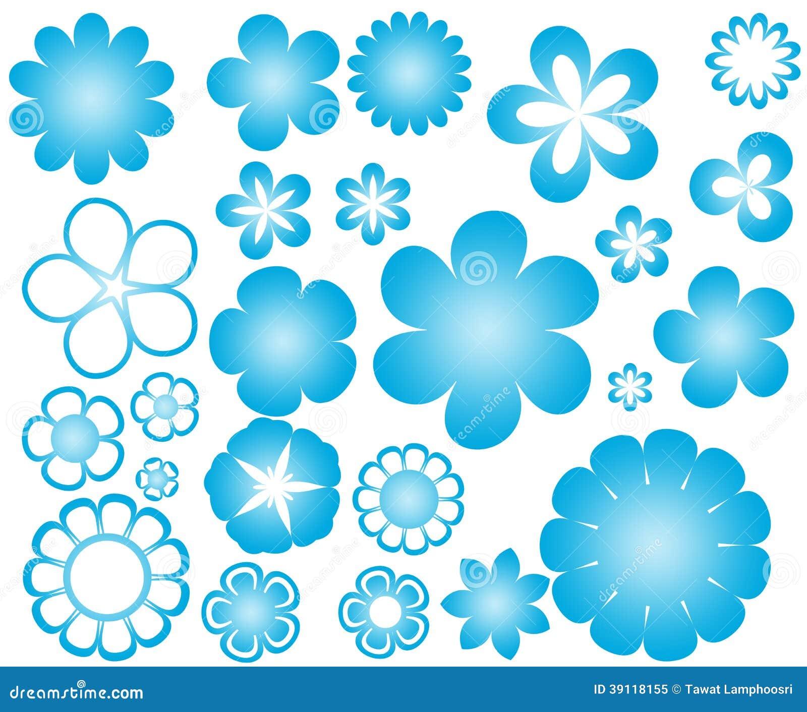 Vectorillustratie van bloem