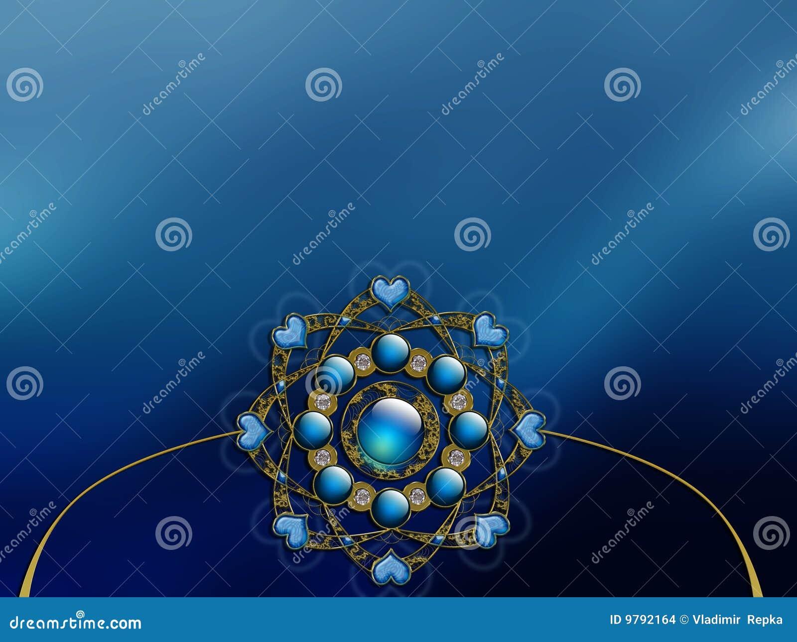 Vectorized Photo Background fractal layout design