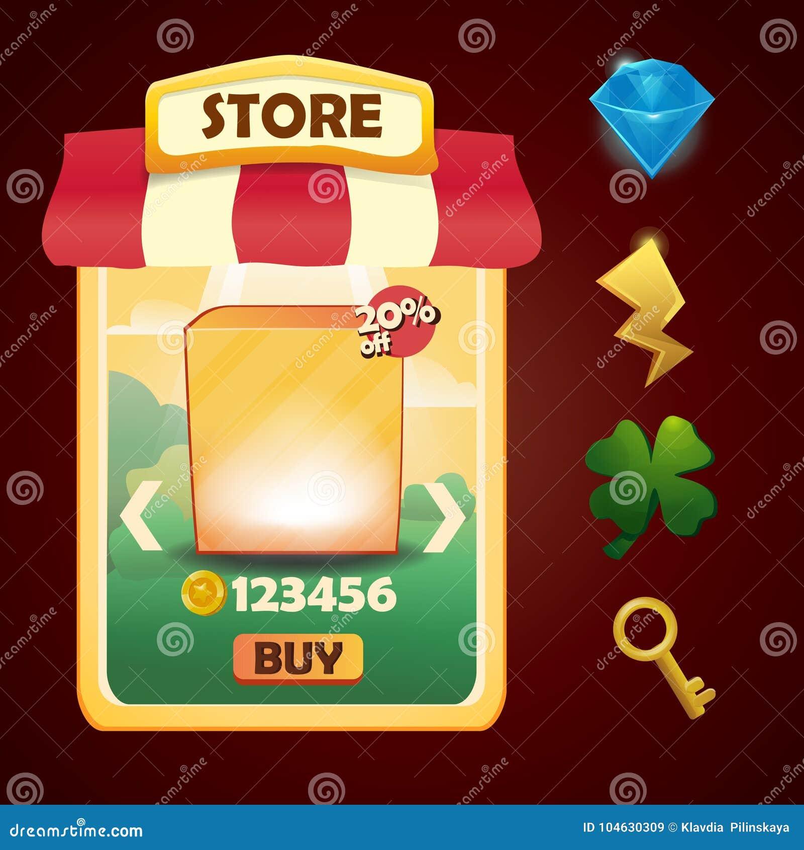 Download Vectormalplaatje Voor Opslag Of Winkel Vector Illustratie - Illustratie bestaande uit muntstuk, geluk: 104630309