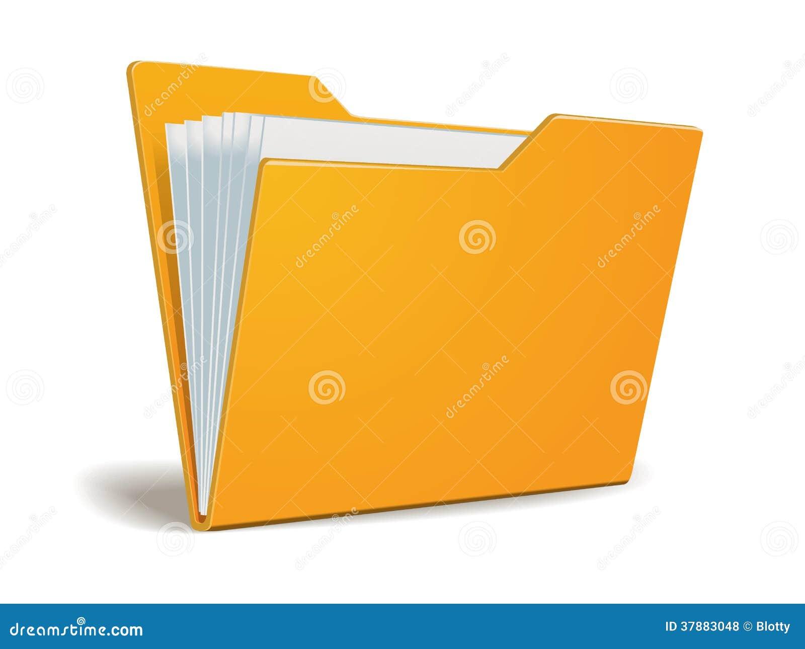 Vectoromslag met documenten