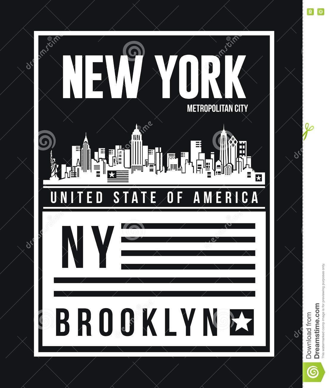 Poster design new york - New York City Retro Vintage Typography Poster T Shirt Printing Design Vector Badge Applique Label