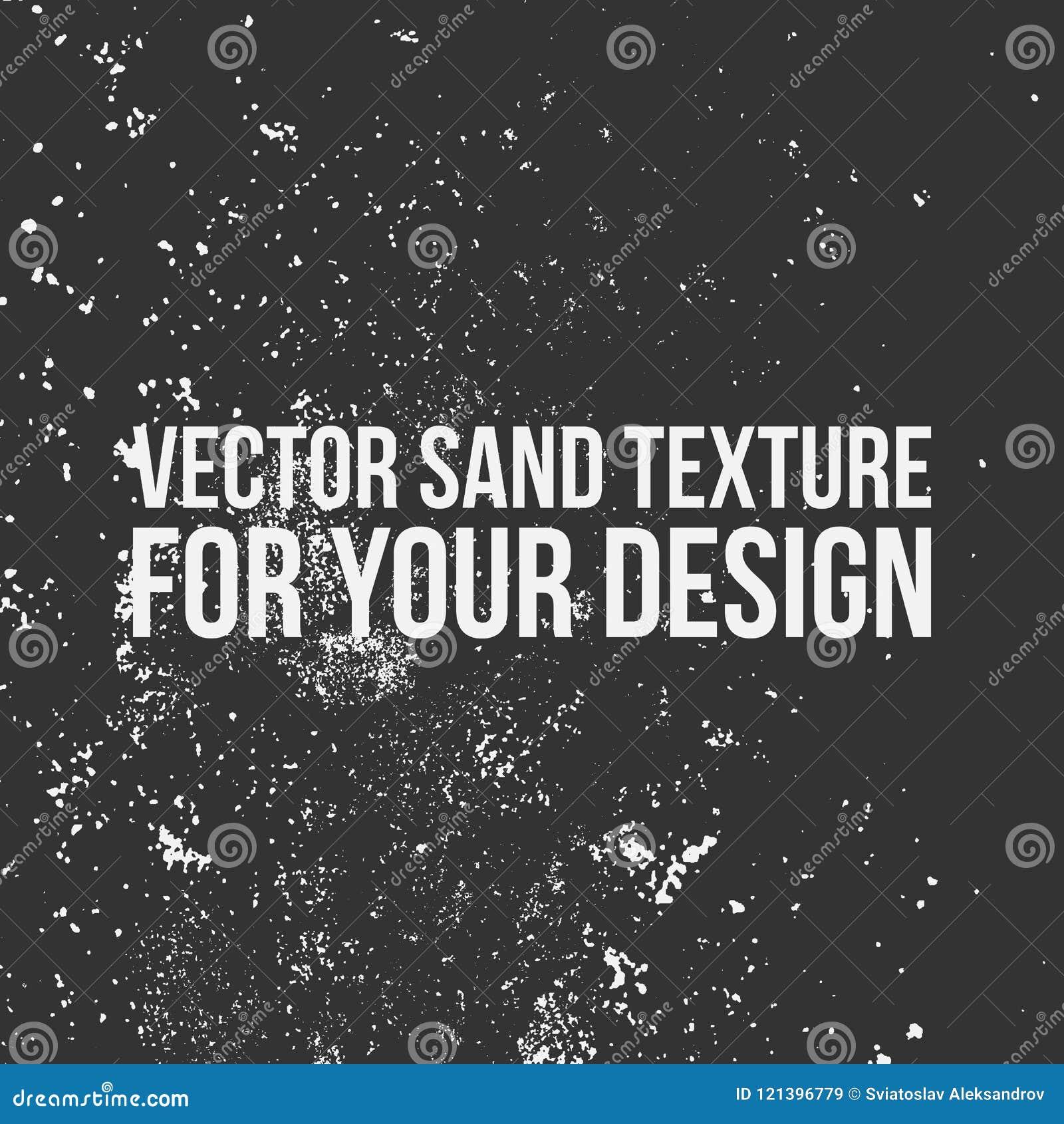 Vectorzandtextuur voor Uw Ontwerp