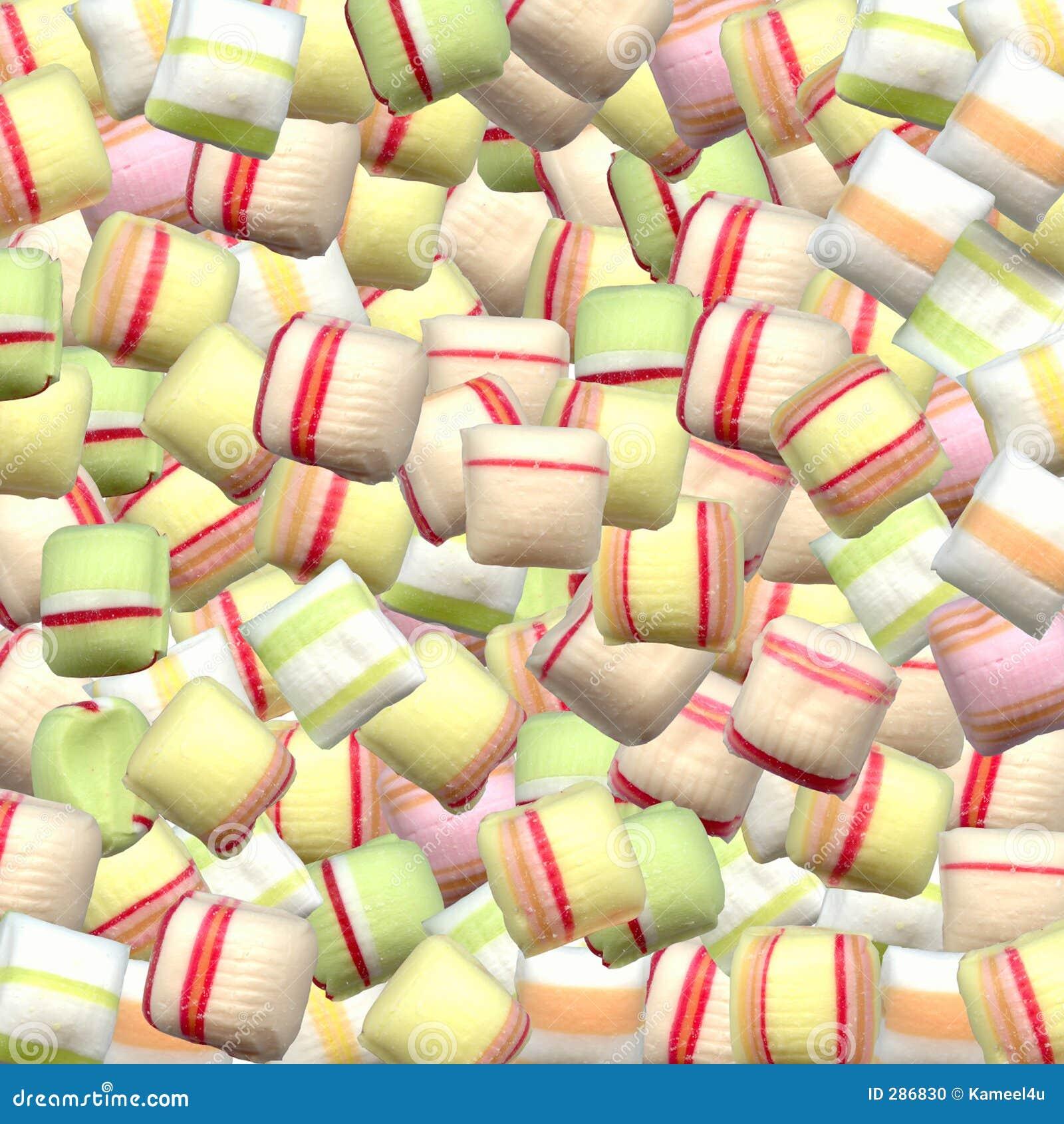 Veel en partijen suikergoed