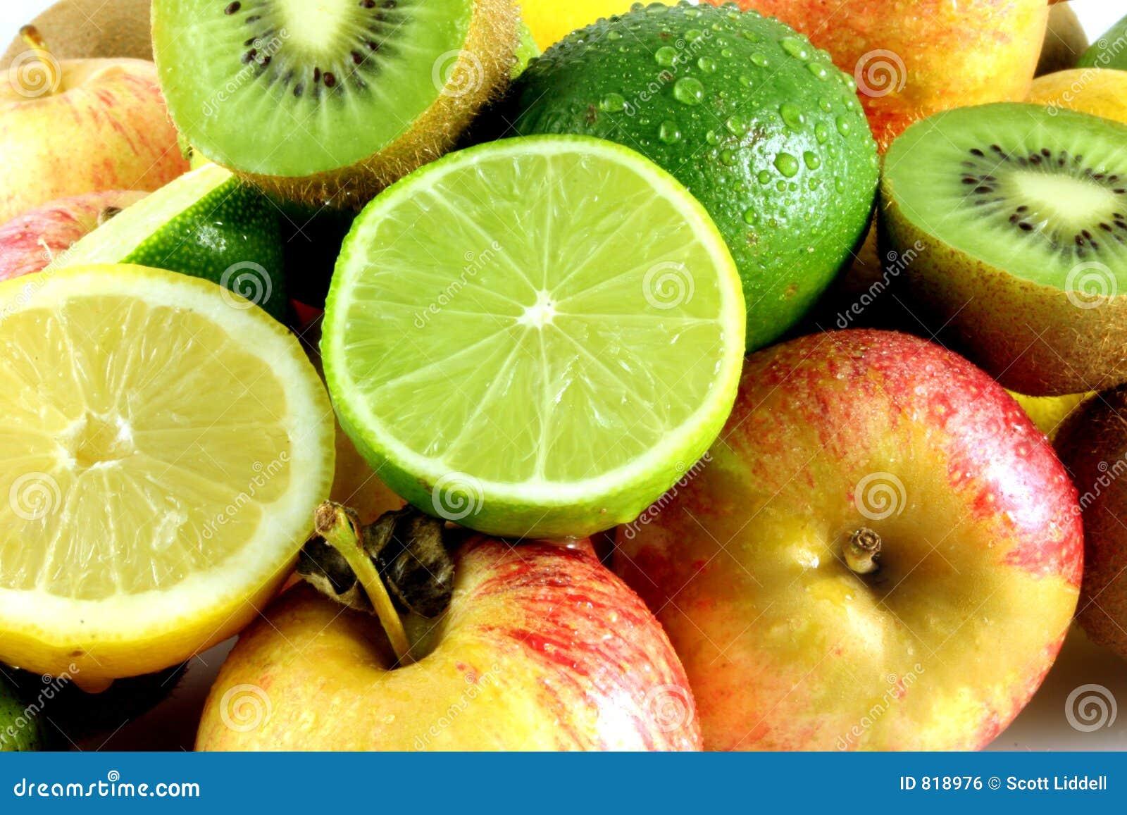 Veel vers fruit