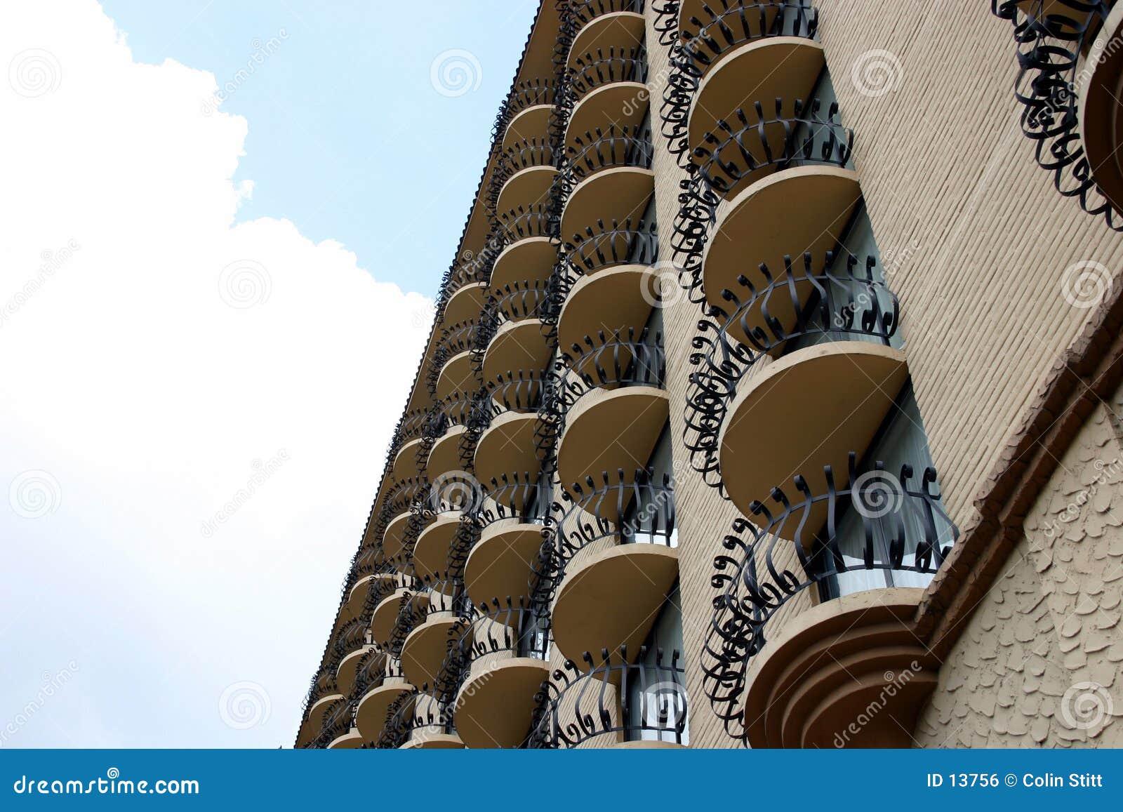 Veelvoudige balkons 1