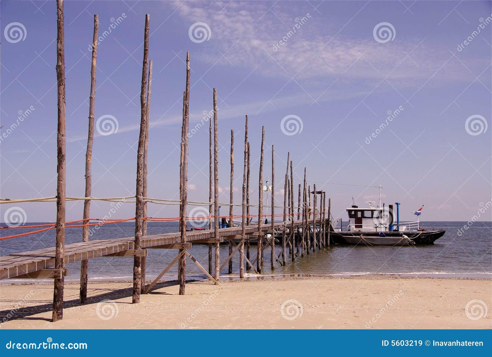 Veerboot Texel aan Vlieland