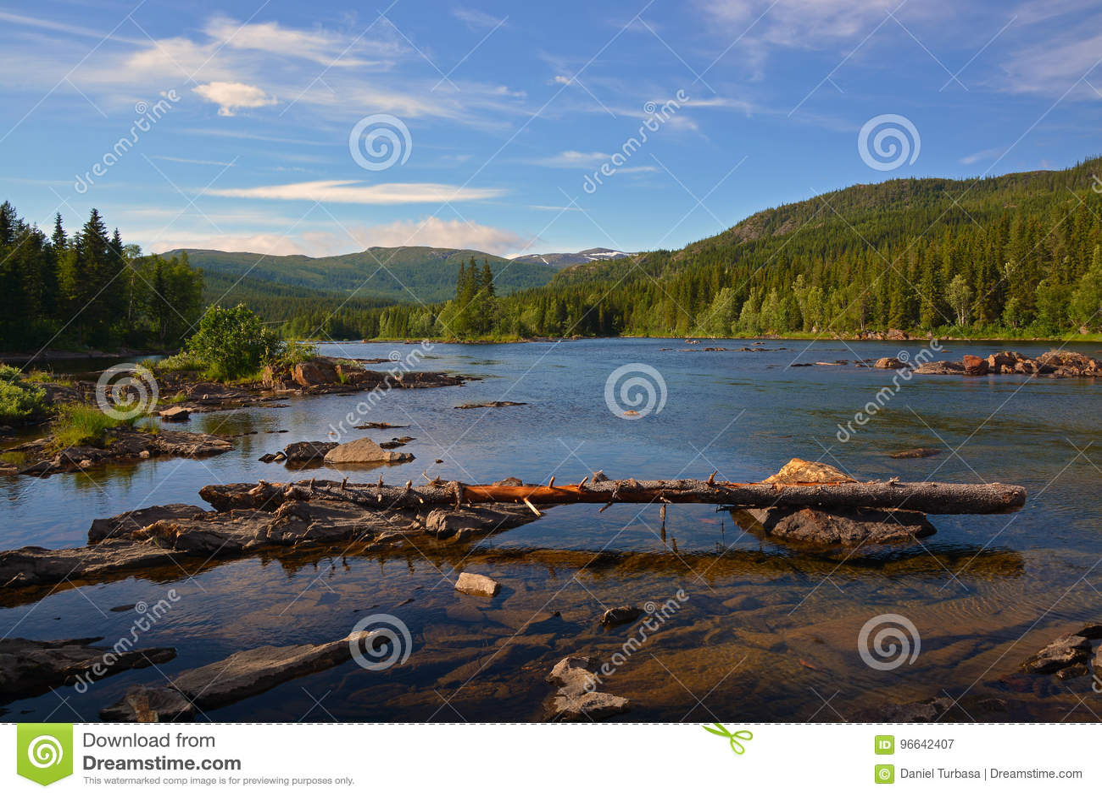 Vefsna河