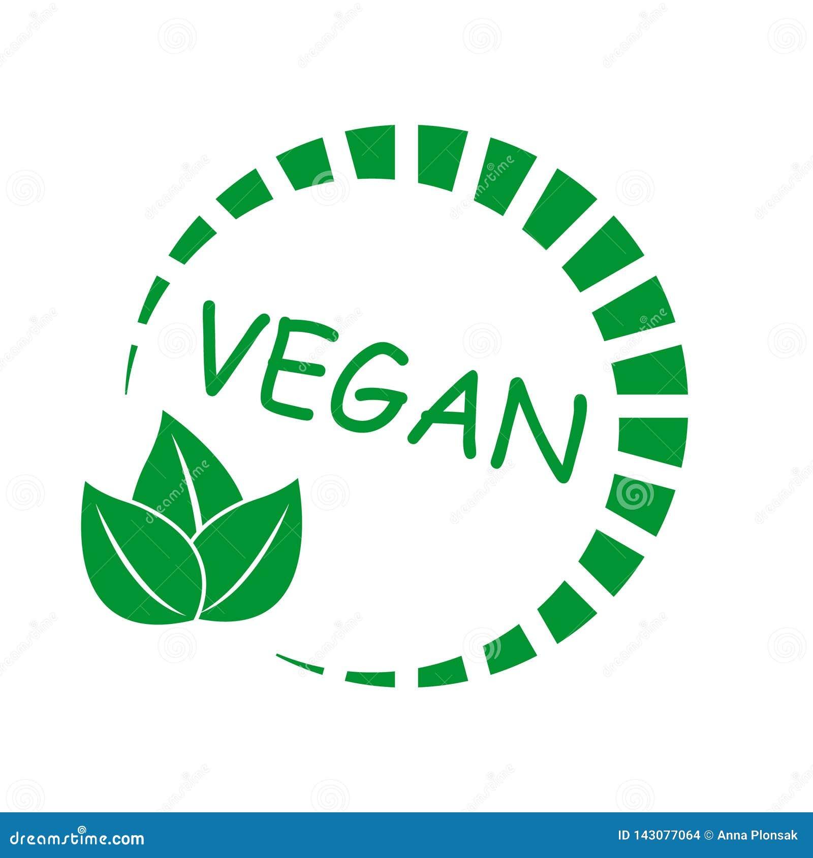 Vegan Icon  Natural Product  Symbol Of Vegetarian Food