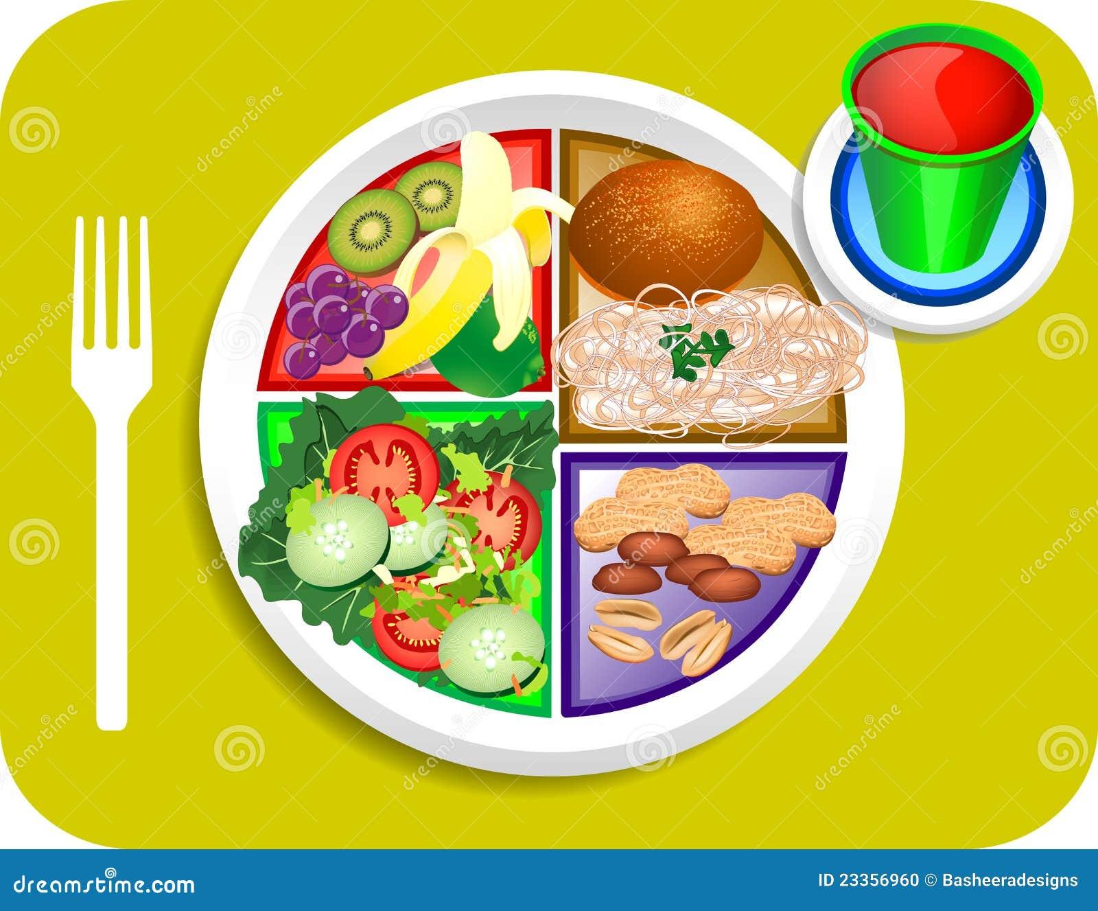 Blue Menu Food Items