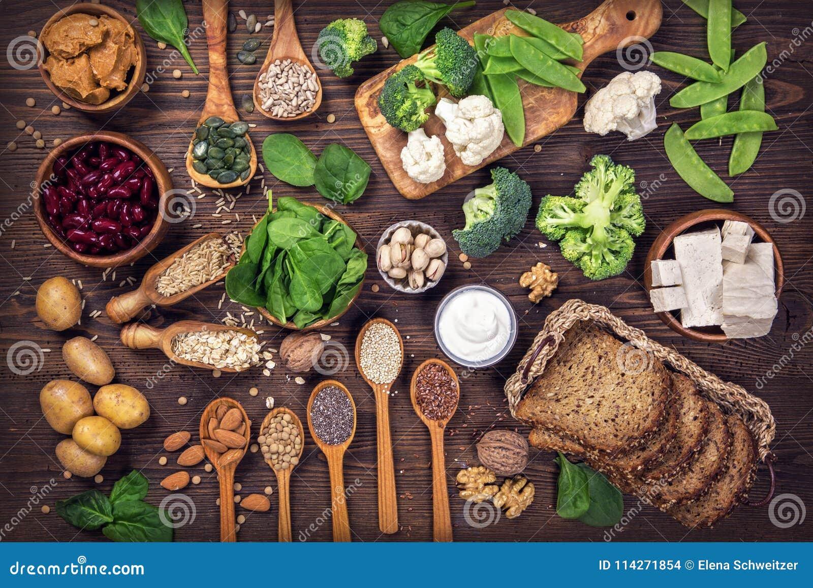 Vegan protein sources.