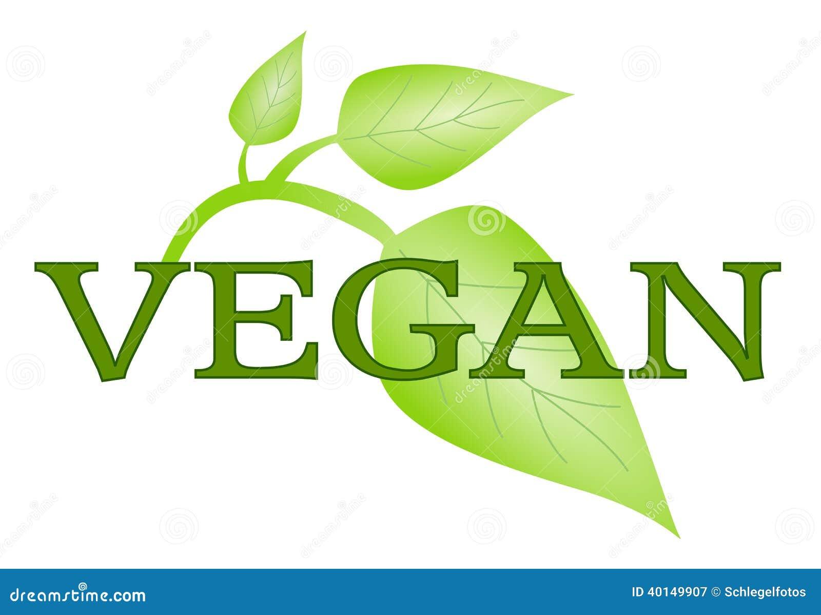Vegan Symbol Vector