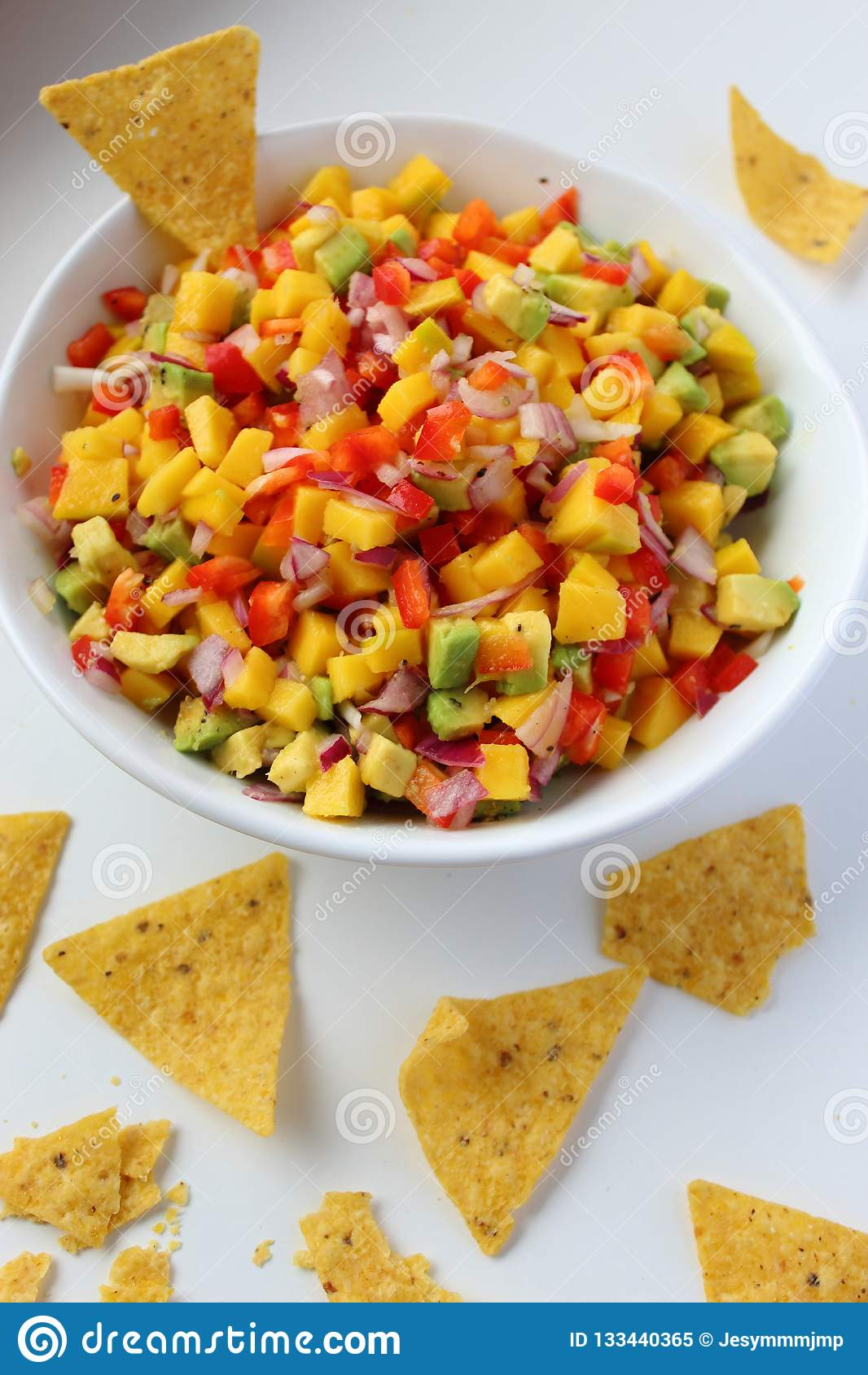 Vegano y comida sana Salsa mexicana