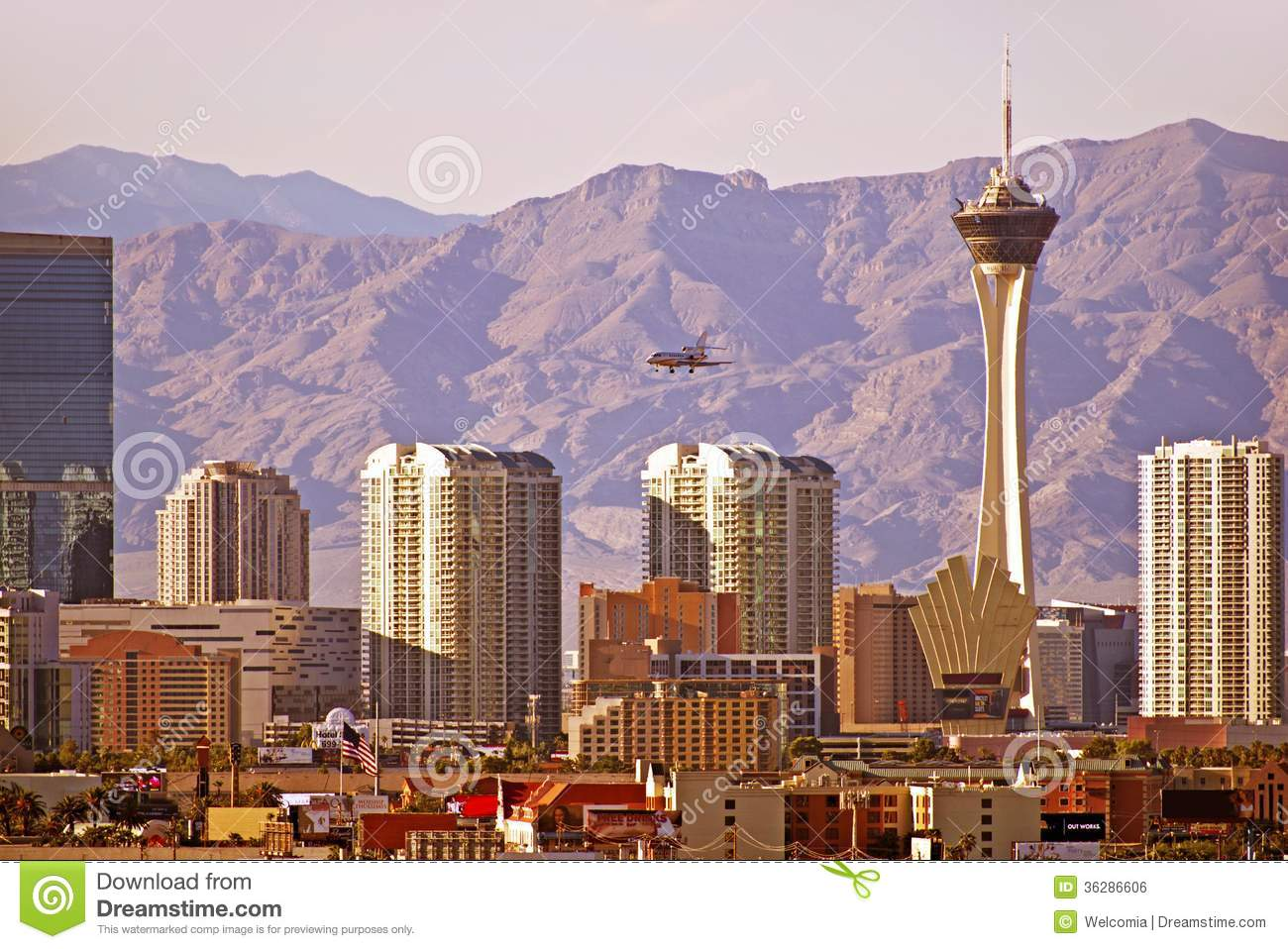 Las Vegas (NV) United States  City new picture : Vegas Cityscape. Las Vegas, Nevada Downtown Skyline. United States.