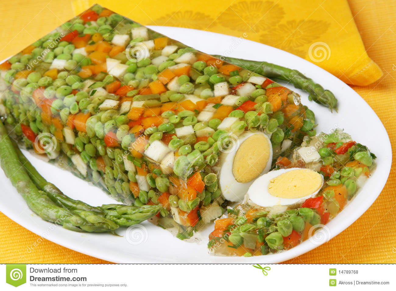 Vegetable Aspic Royalty Free Stock Photos Image 14789768