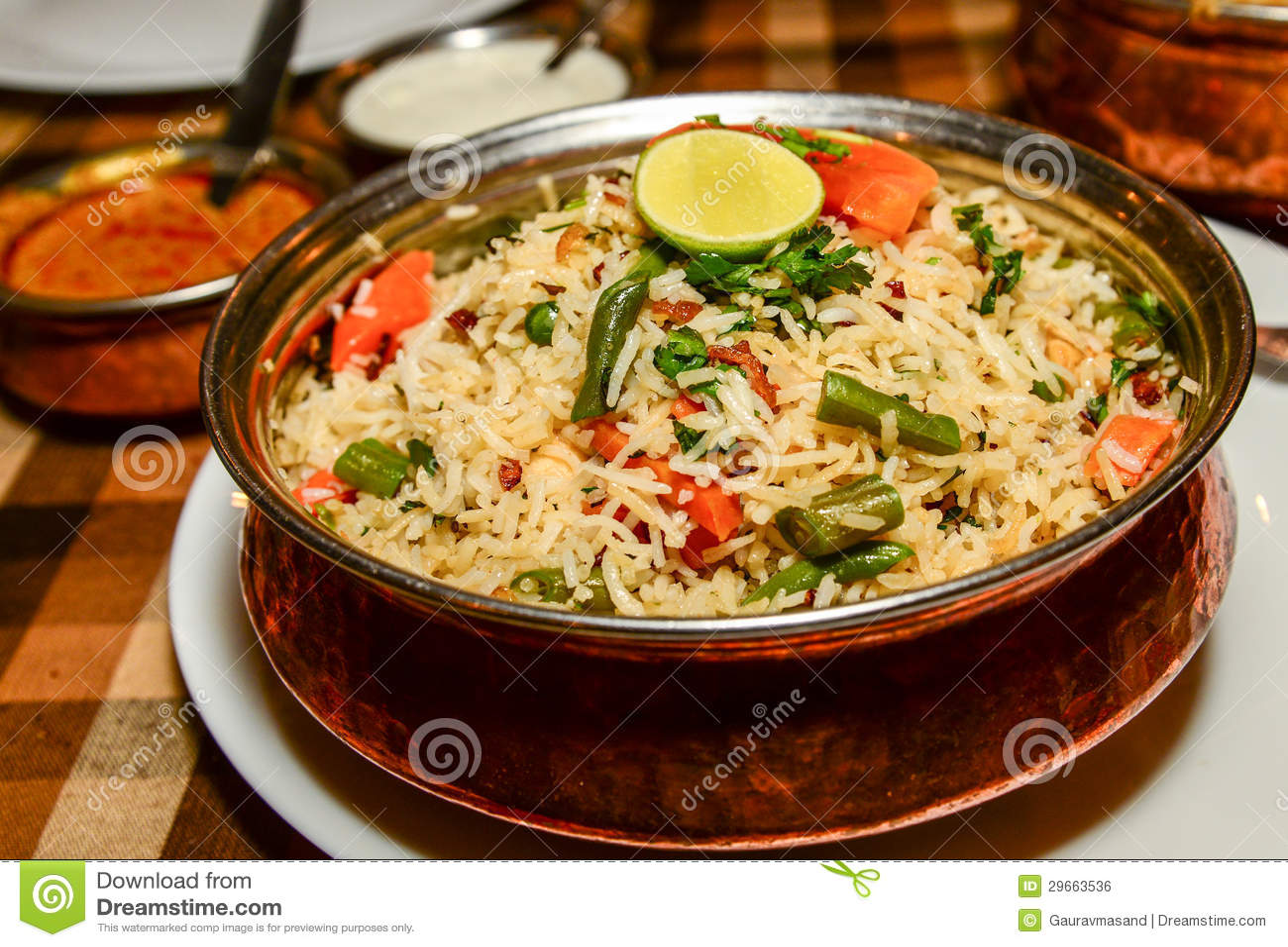 Free stock photo of biryani, biryani rice, food.