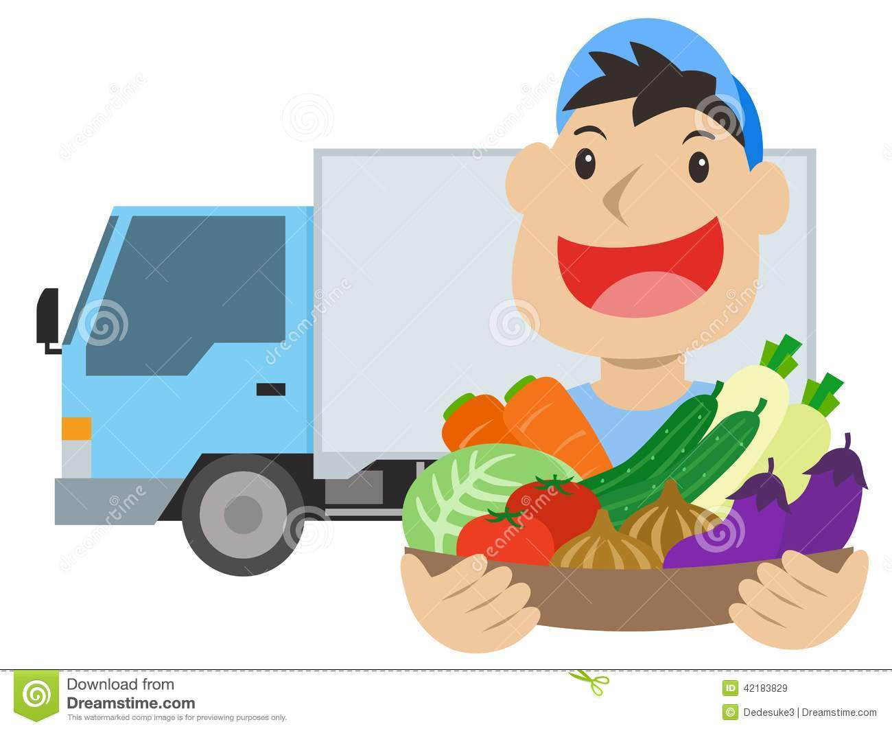 clipart delivery man - photo #42