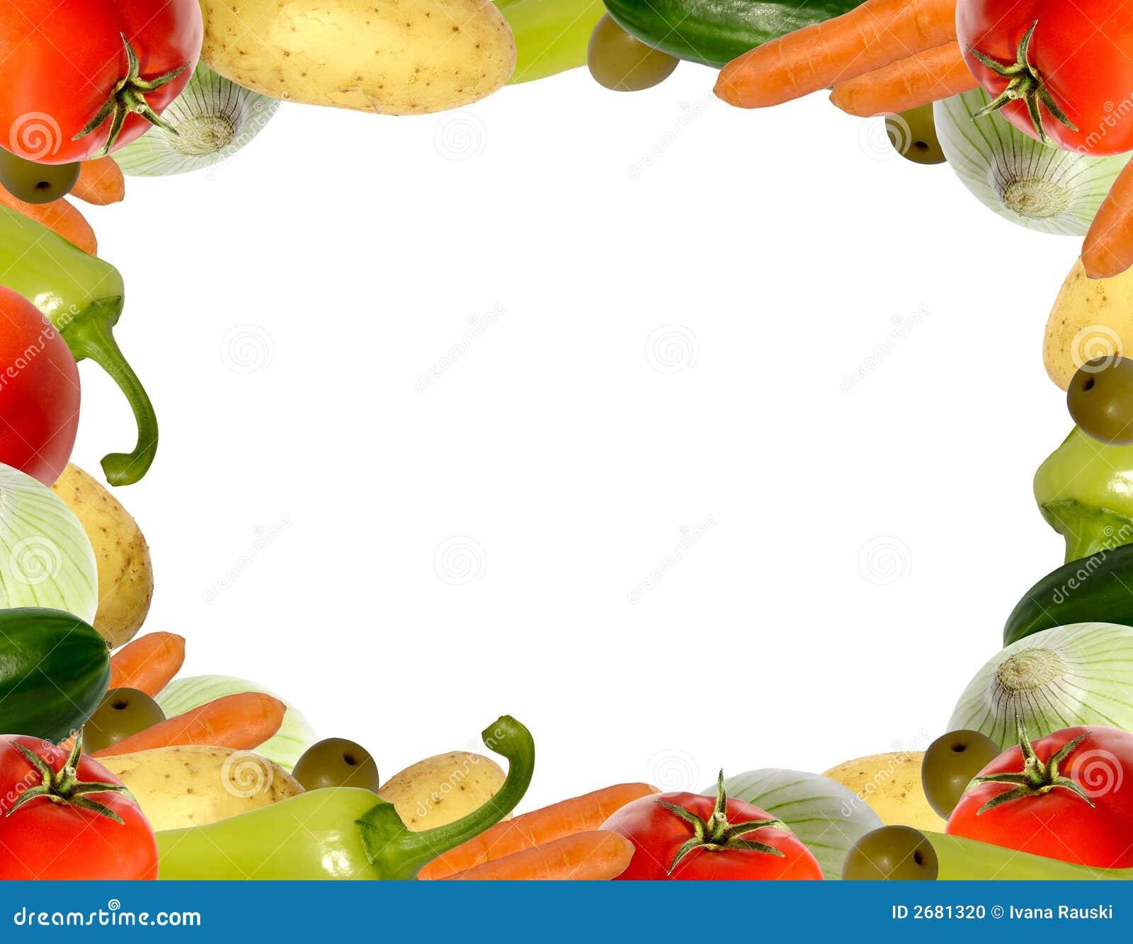 Vegetable Frame Stock Photo - Image: 2681320