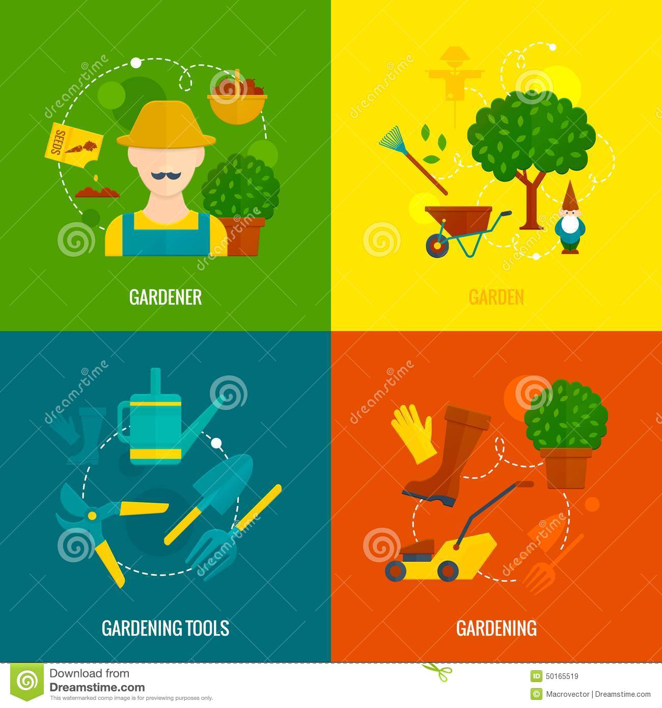 Vegetable garden graphic - Royalty Free Vector