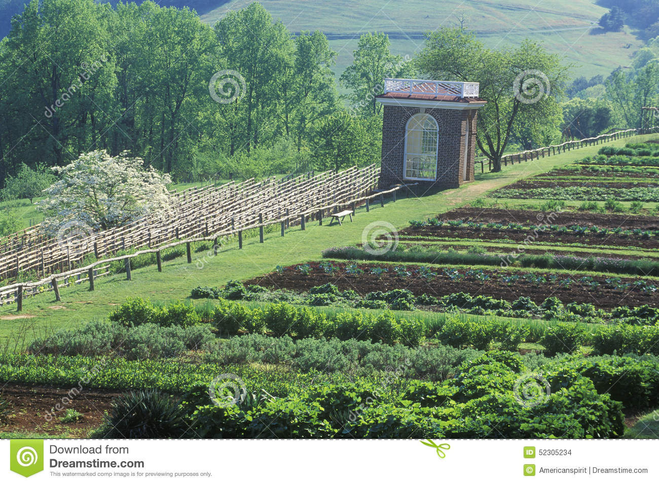 Monticello Virginia Royalty Free Stock Photography