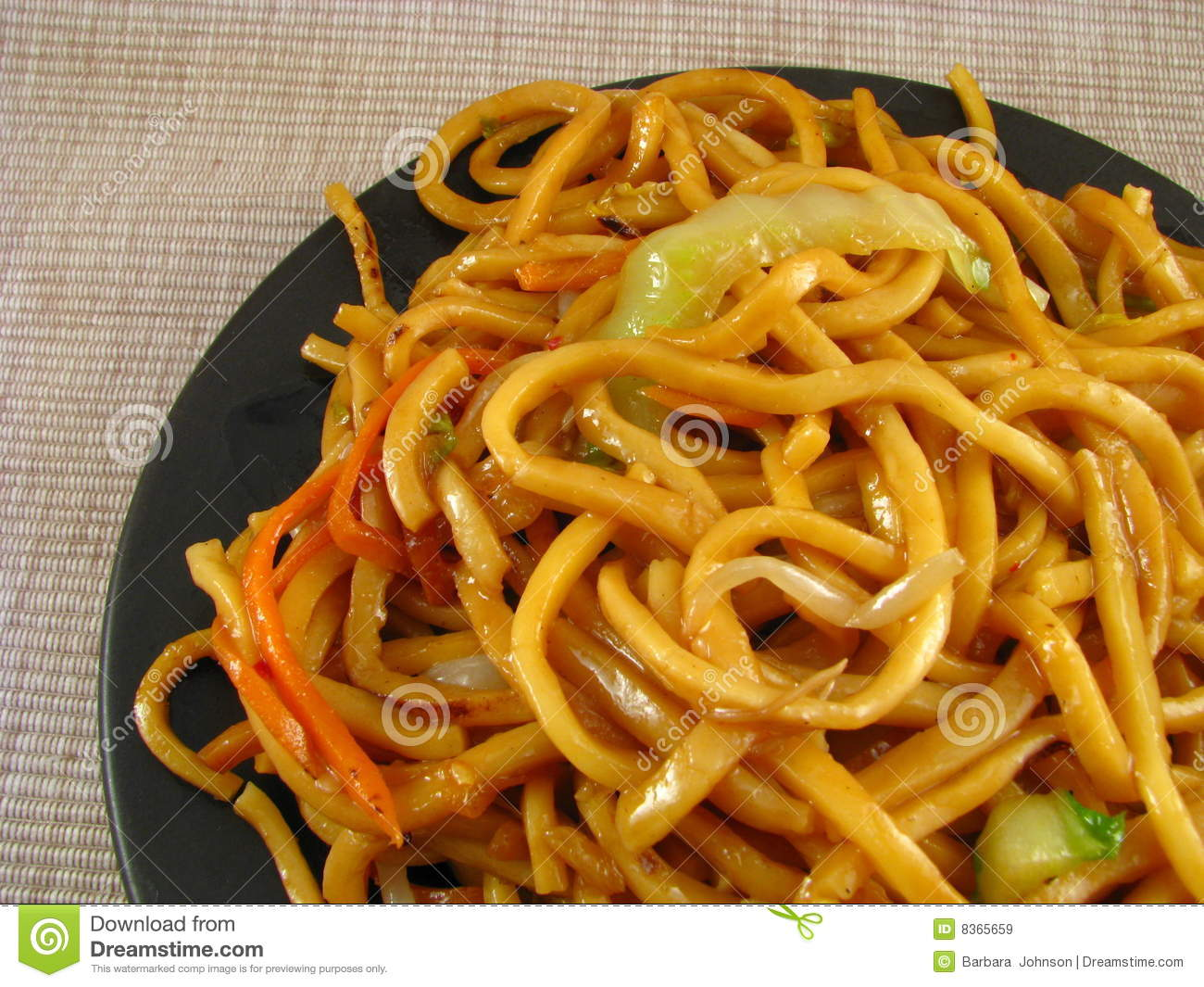 Vegetable Lo Mein Royalty Free Stock Images - Image: 8365659
