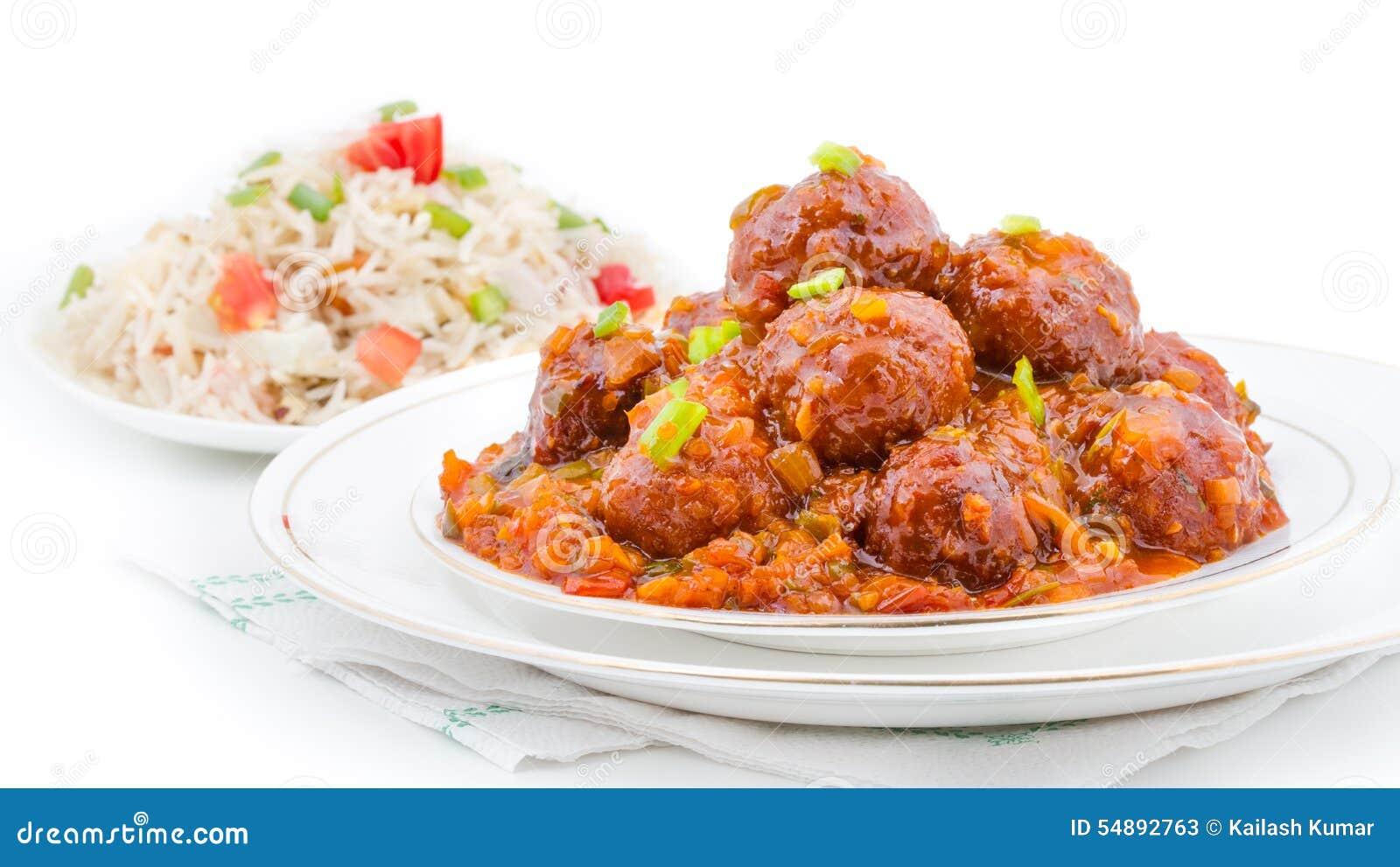Manchurian Indian Food