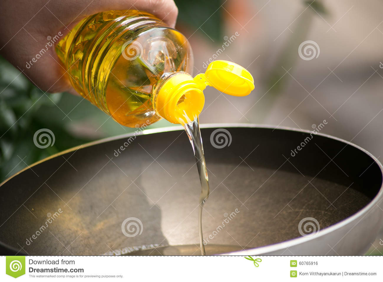 Vegetable Oil for food.