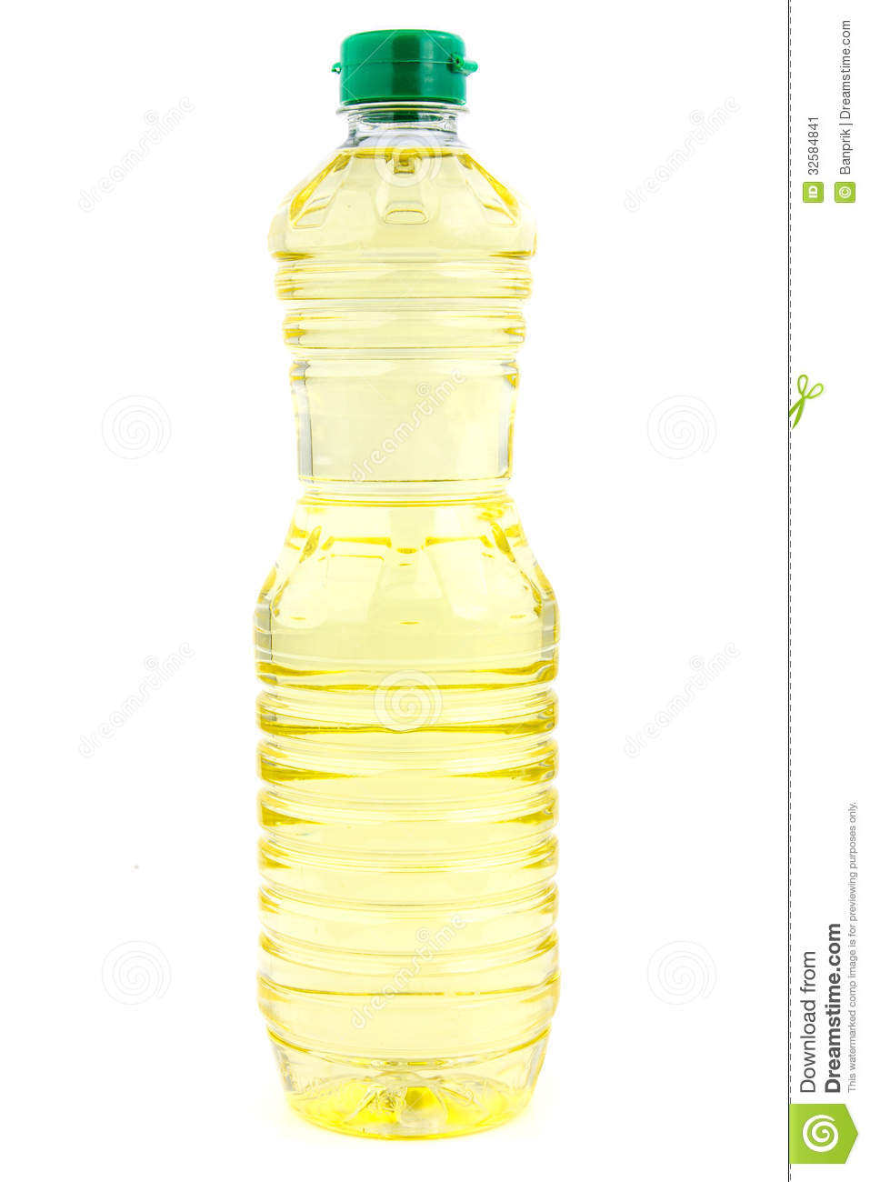Vegetable Oil In Plastic Bottle Stock Image Image 32584841