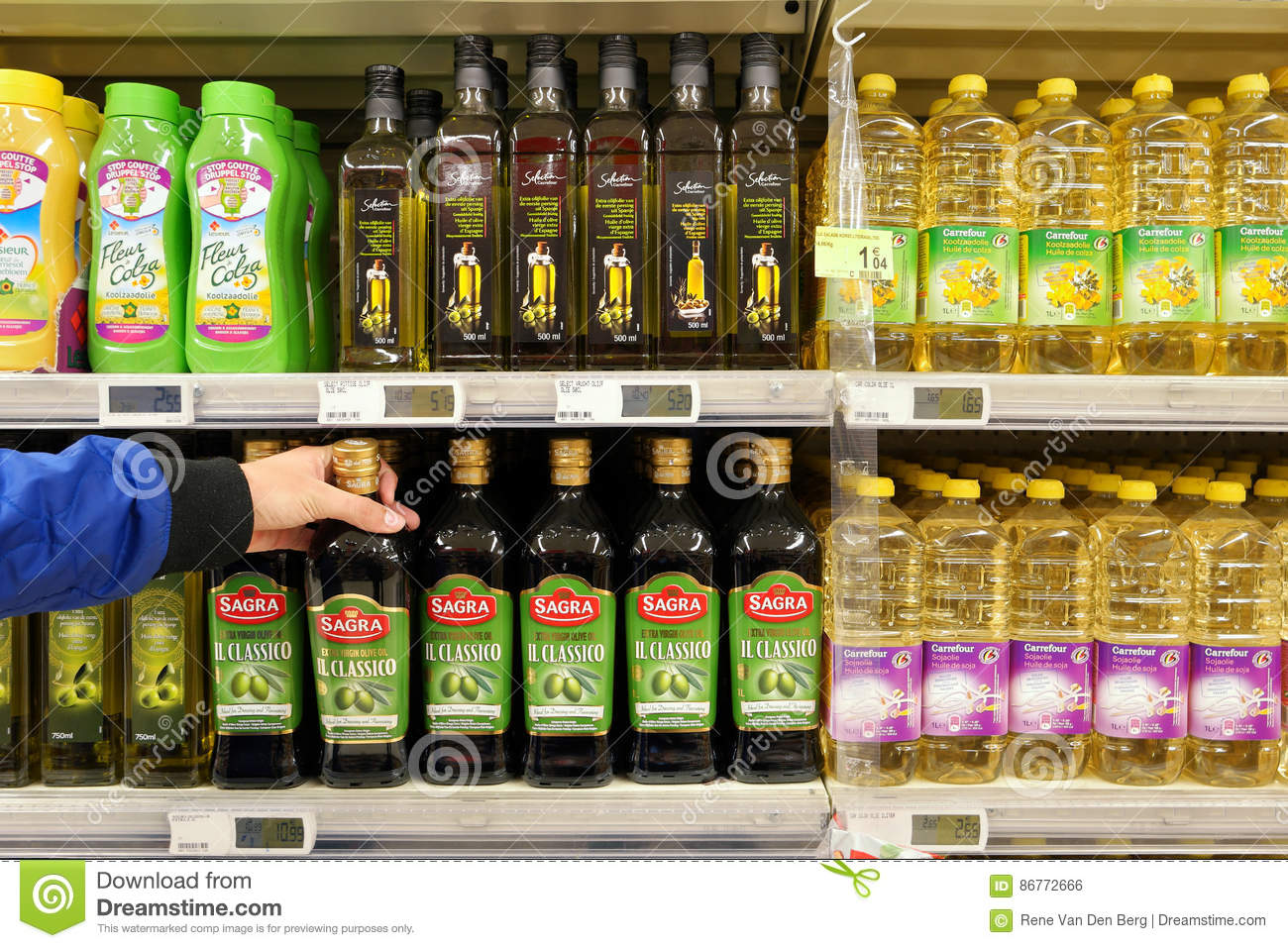 Vegetable Oils in a Store editorial photo  Image of acids - 86772666
