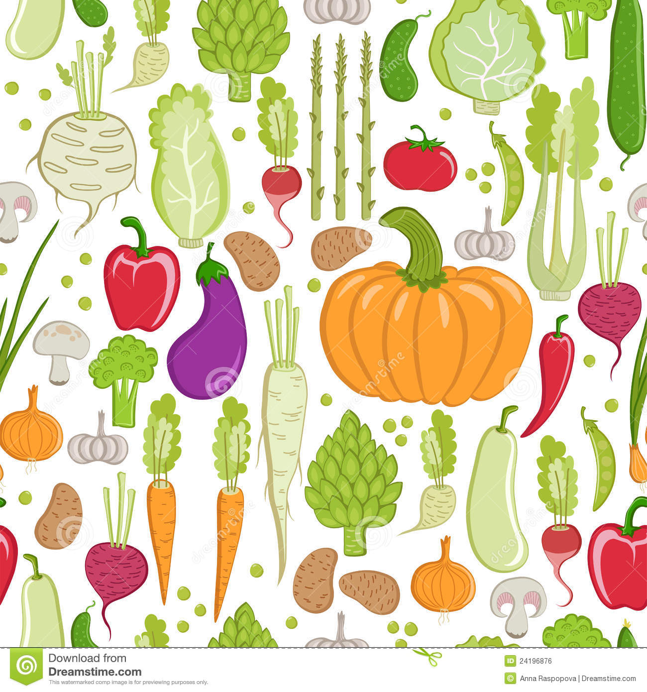 Vegetable pattern - photo#7