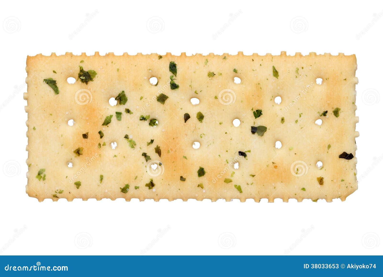 Vegetable salty crackers