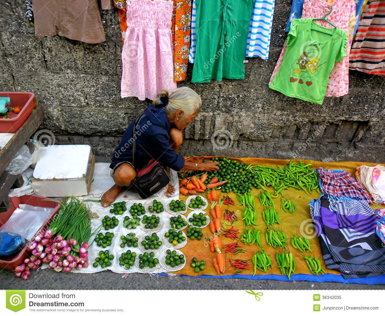 Cainta Philippines  City pictures : ... vendor in a Market in Cainta, Rizal, Philippines, Asia Editorial Image