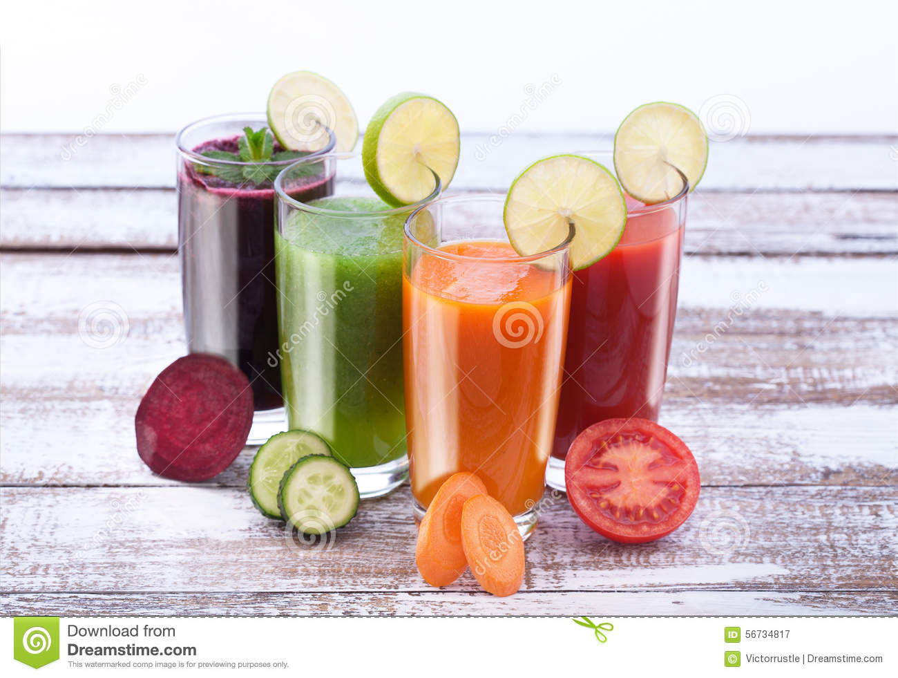 how to make mix vegetable juice