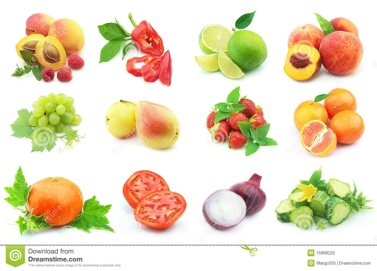 vegetables and fruit stock photo image of peach group 15898220