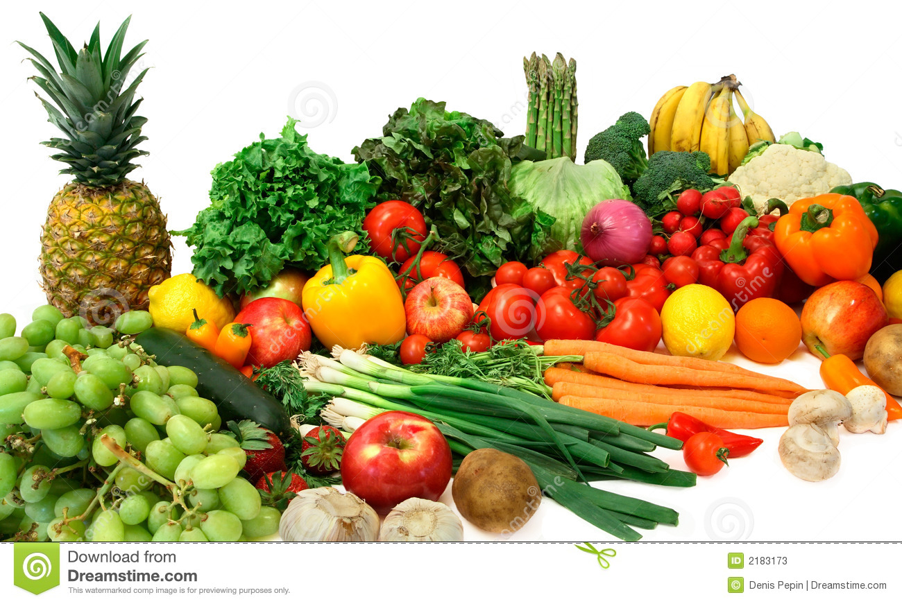 Bevorzugt Vegetables And Fruits Stock Photos - Image: 2183173 VP92