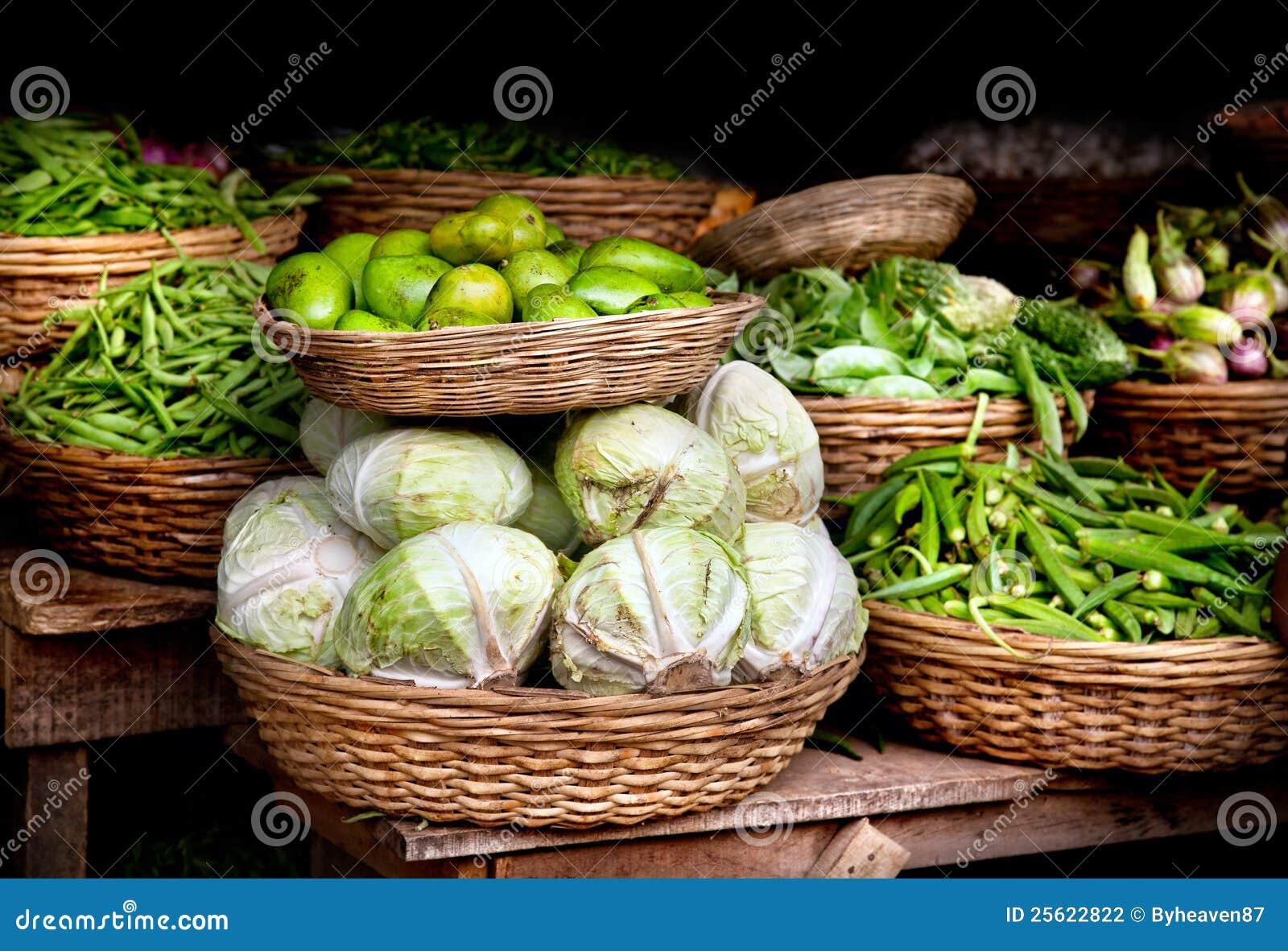Vegetables At Indian Market Stock Photography - Image ...Kerala Vegetable Market