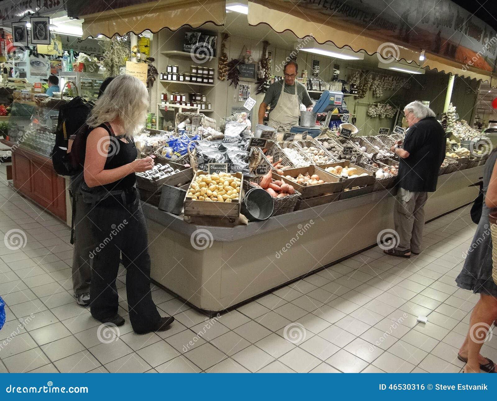 Vegetables in Les Halle